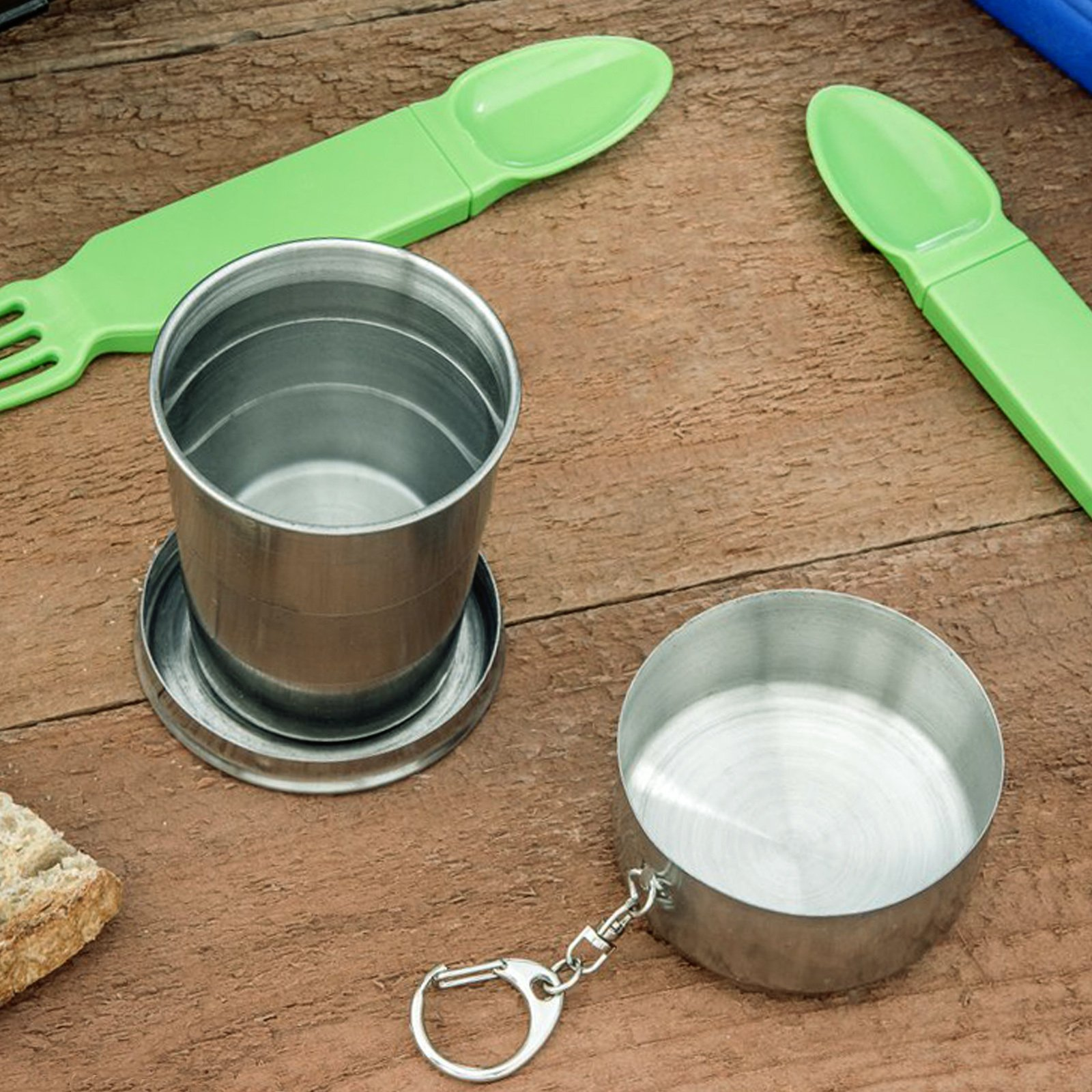 ASR Outdoor Stainless Steel Collapsible Camping Cup 4.7oz