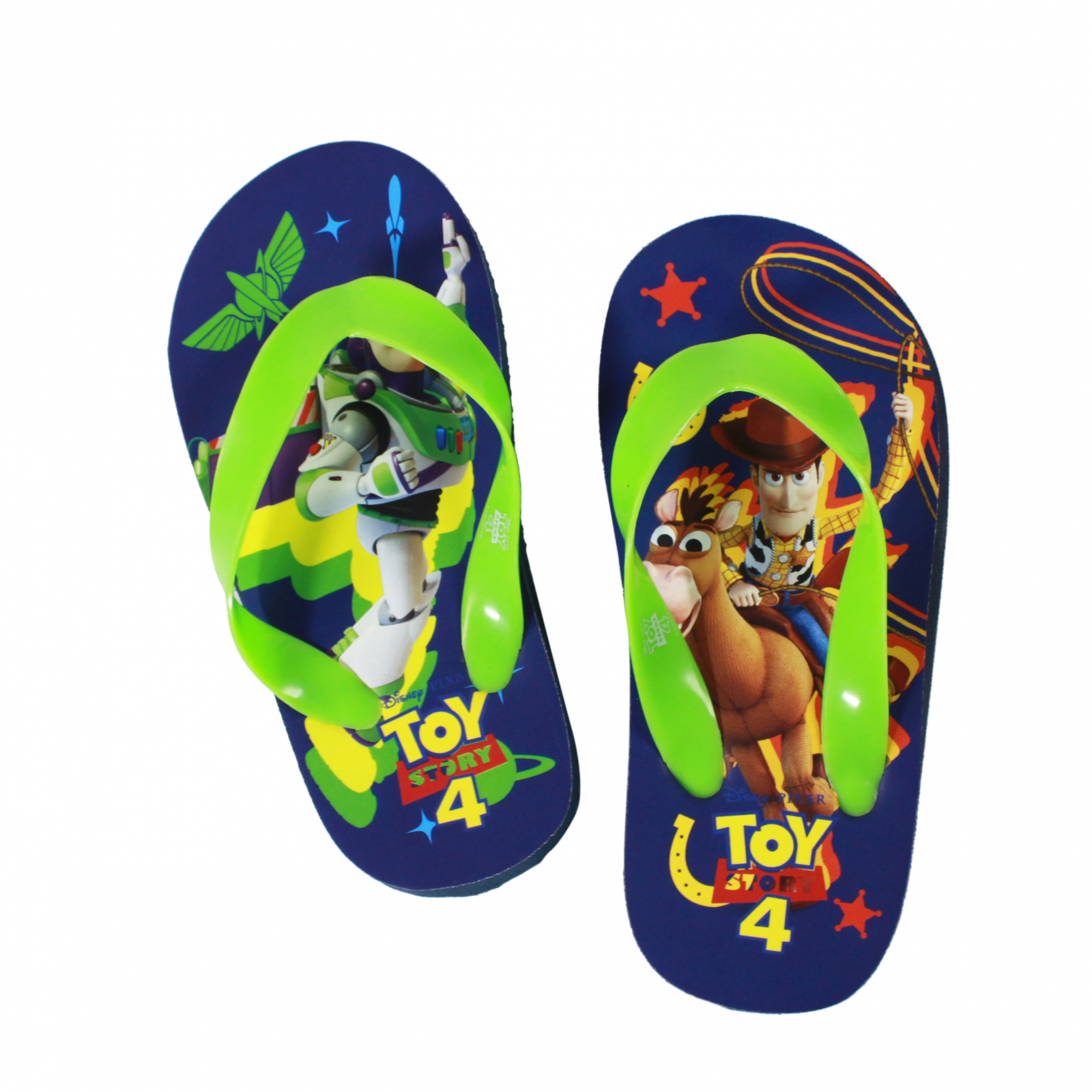 Disney Pixar Toy Story 4 Kids Sandals Green Straps Small 5/6