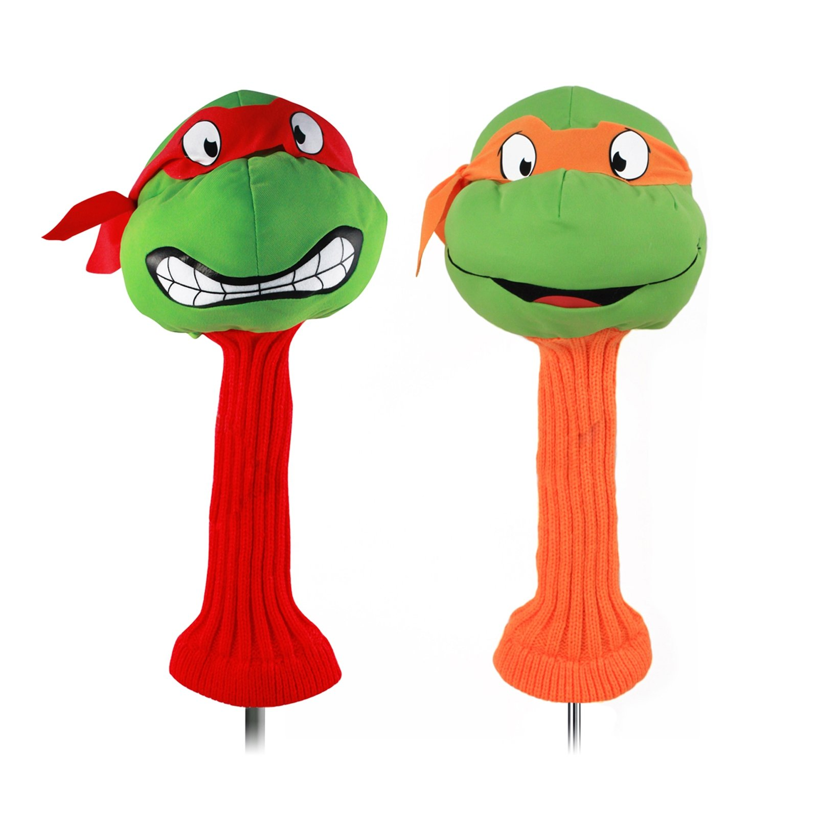 TMNT Collectible 2pc Golf Headcover Set with Raph and Mikey