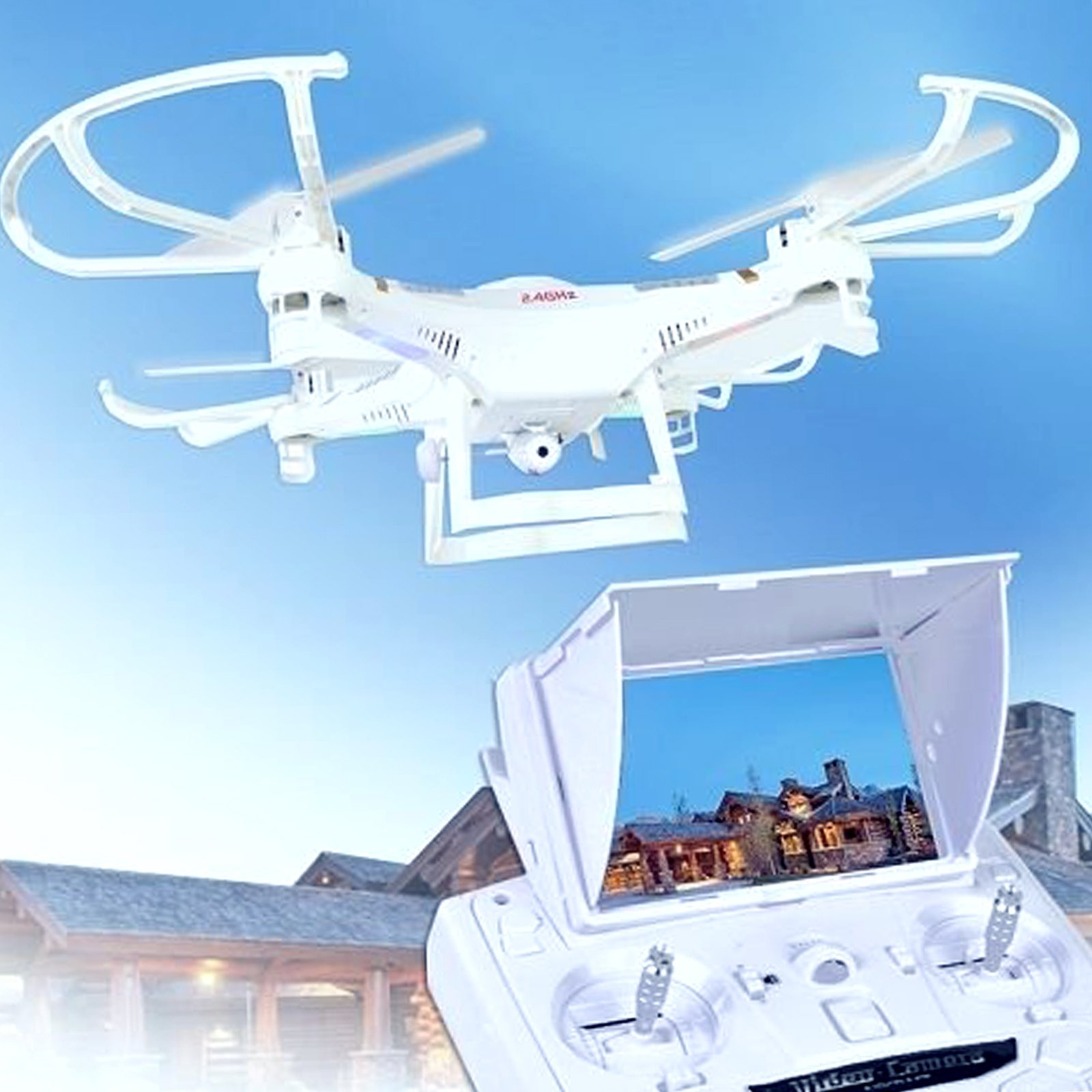 X118FPV 5.8ghz Real Time Video Transmission Quadcopter Camera Drone