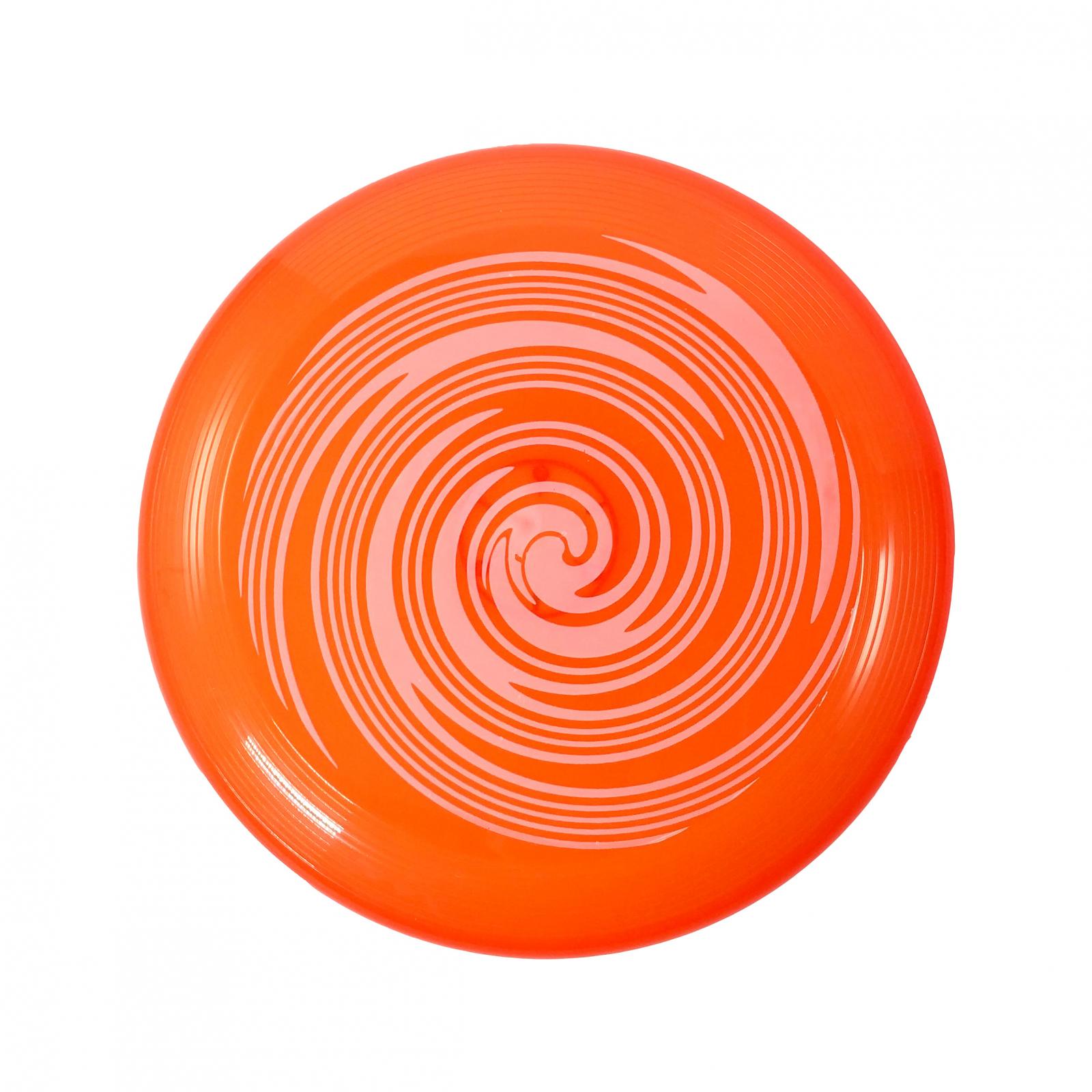 TychoTyke Kids Classic Flying Disc Light Up Toy - Orange
