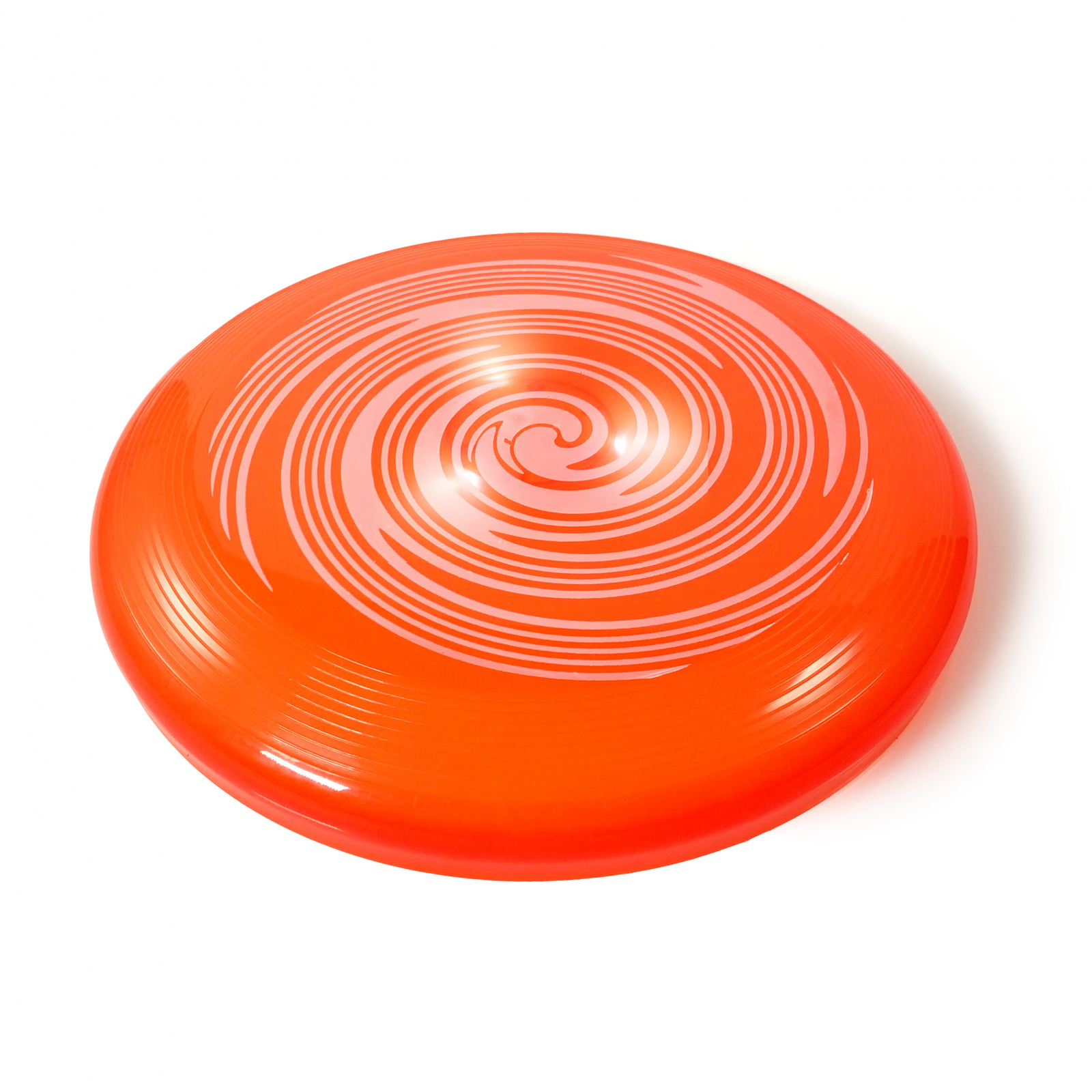 TychoTyke Kids Classic Flying Disc Light Up Toy - Orange