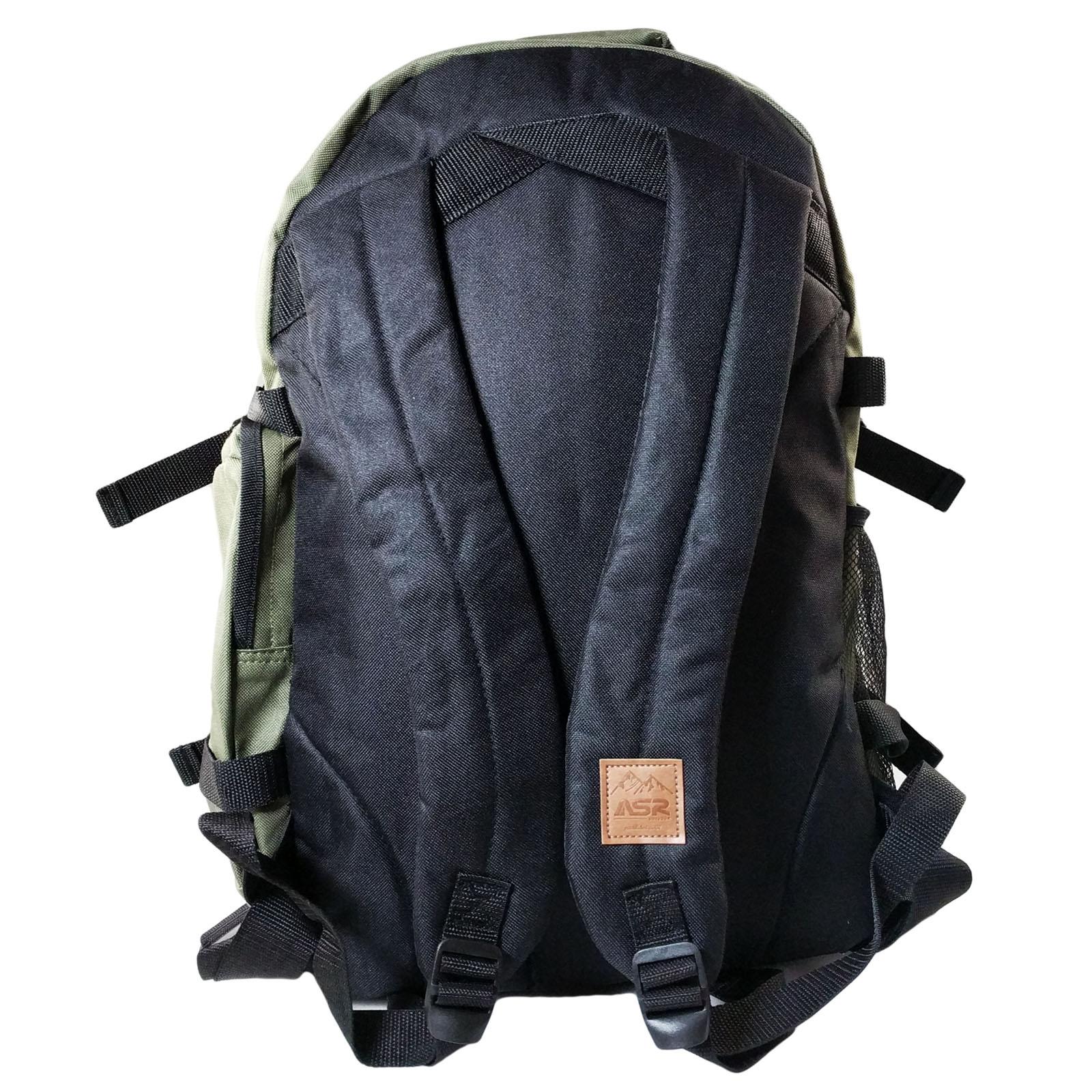 ASR Outdoor Deluxe Backpack with Wire Port - OD Green