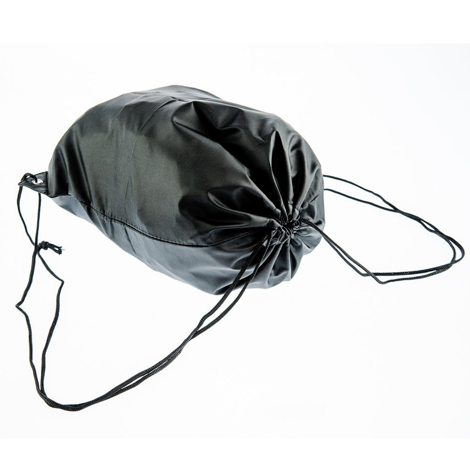 ASR Outdoor Black Drawstring Security Strings Bag with Stopper