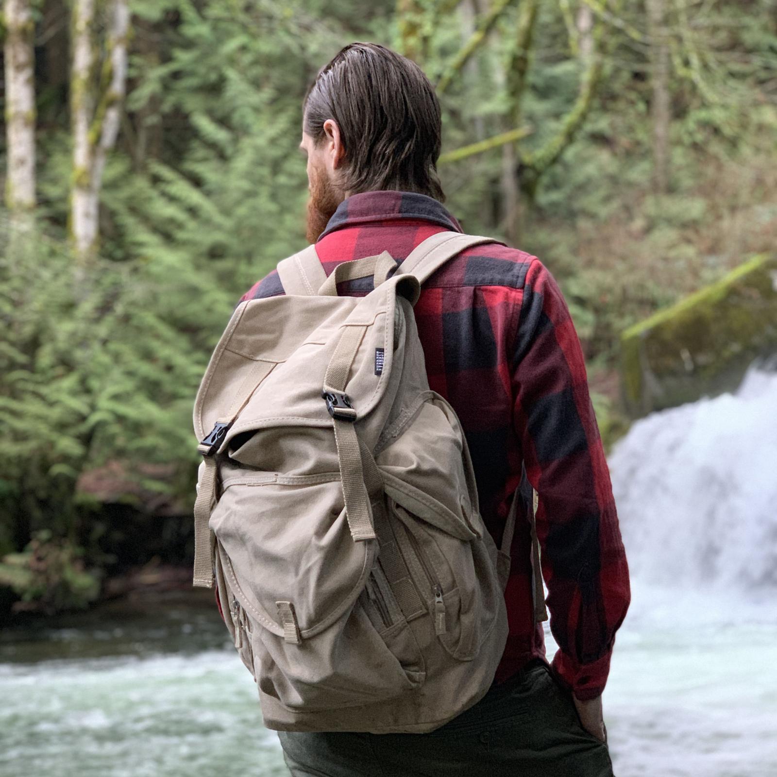 ASR Outdoor Deluxe Aluminum Folding Sluice Box Backpack Kit for Gold Prospecting