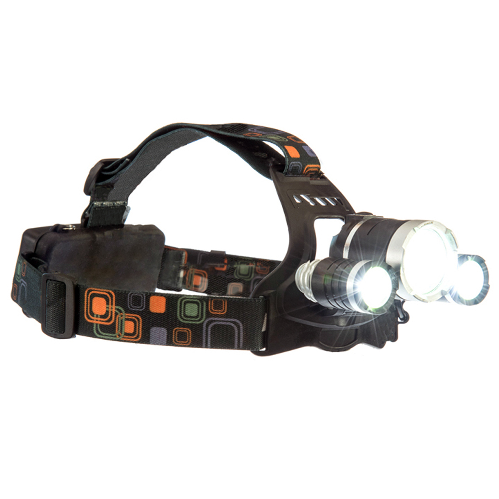 ASR Outdoor Rechargeable Adjustable 2250 Lumen LED Headlamp Four-Stage Switch