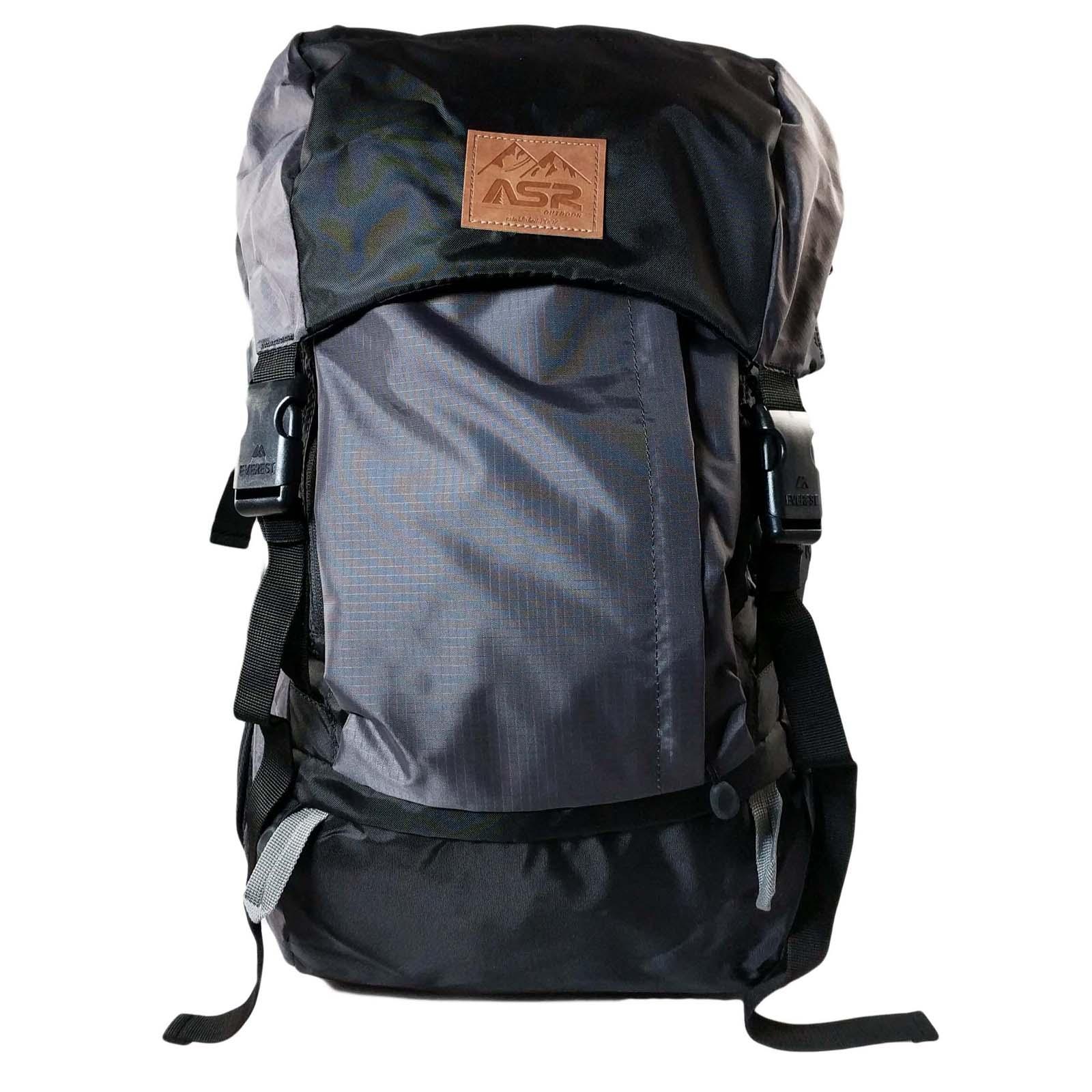ASR Outdoor Weekender Day Packing Hiking Backpack - Gray