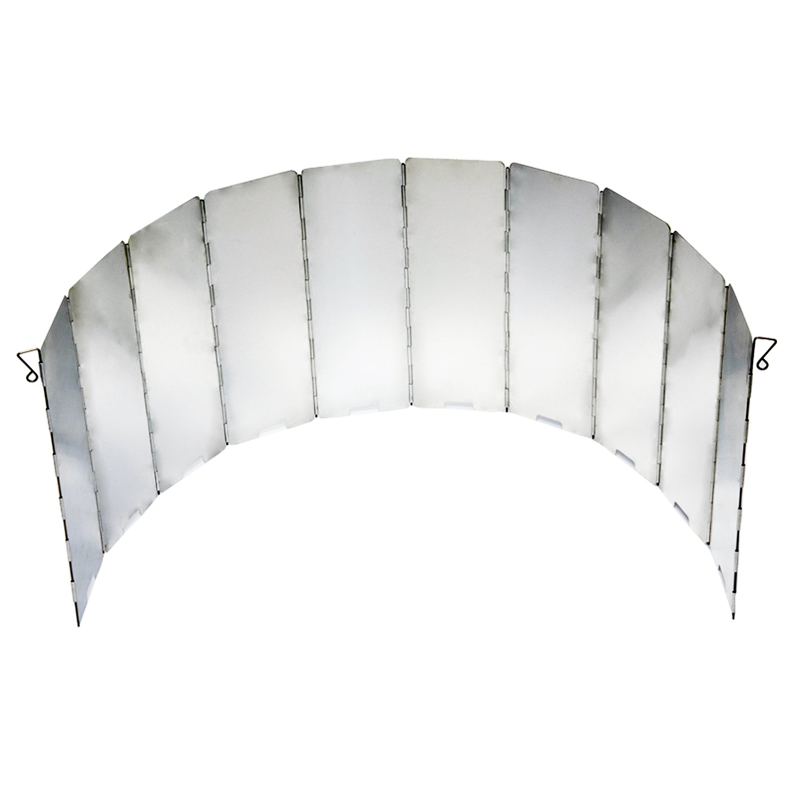 ASR Outdoor Compact Wind Shield Heat Reflector Collapsible Aluminum Panels