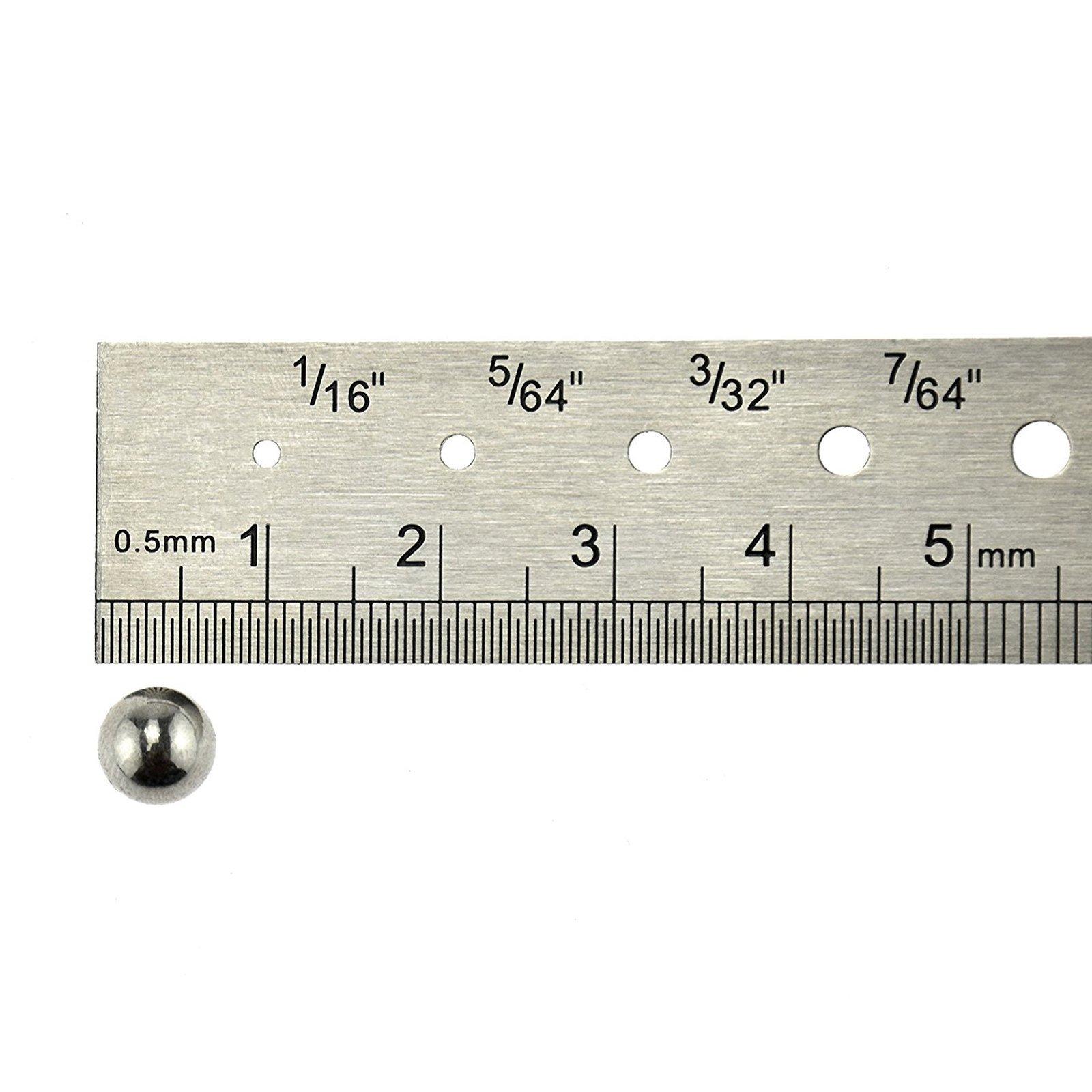 ASR Outdoor 8mm Sling Shot Ball Bearings Steel 50 Piece Set