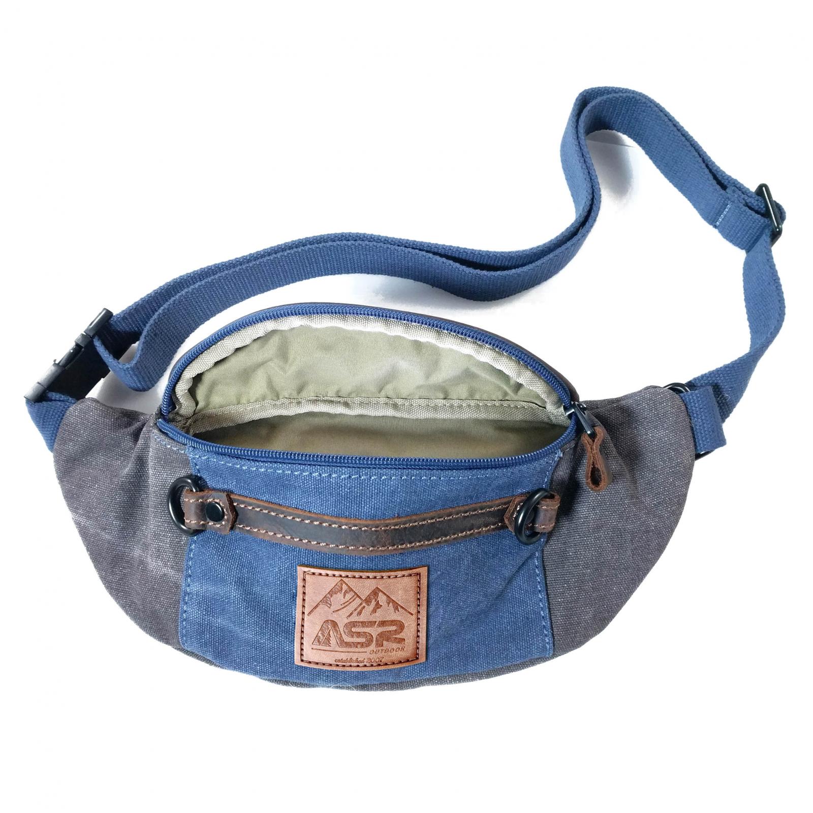 ASR Outdoor Man Pack Fanny Waist Bag Water Resistant - Blue