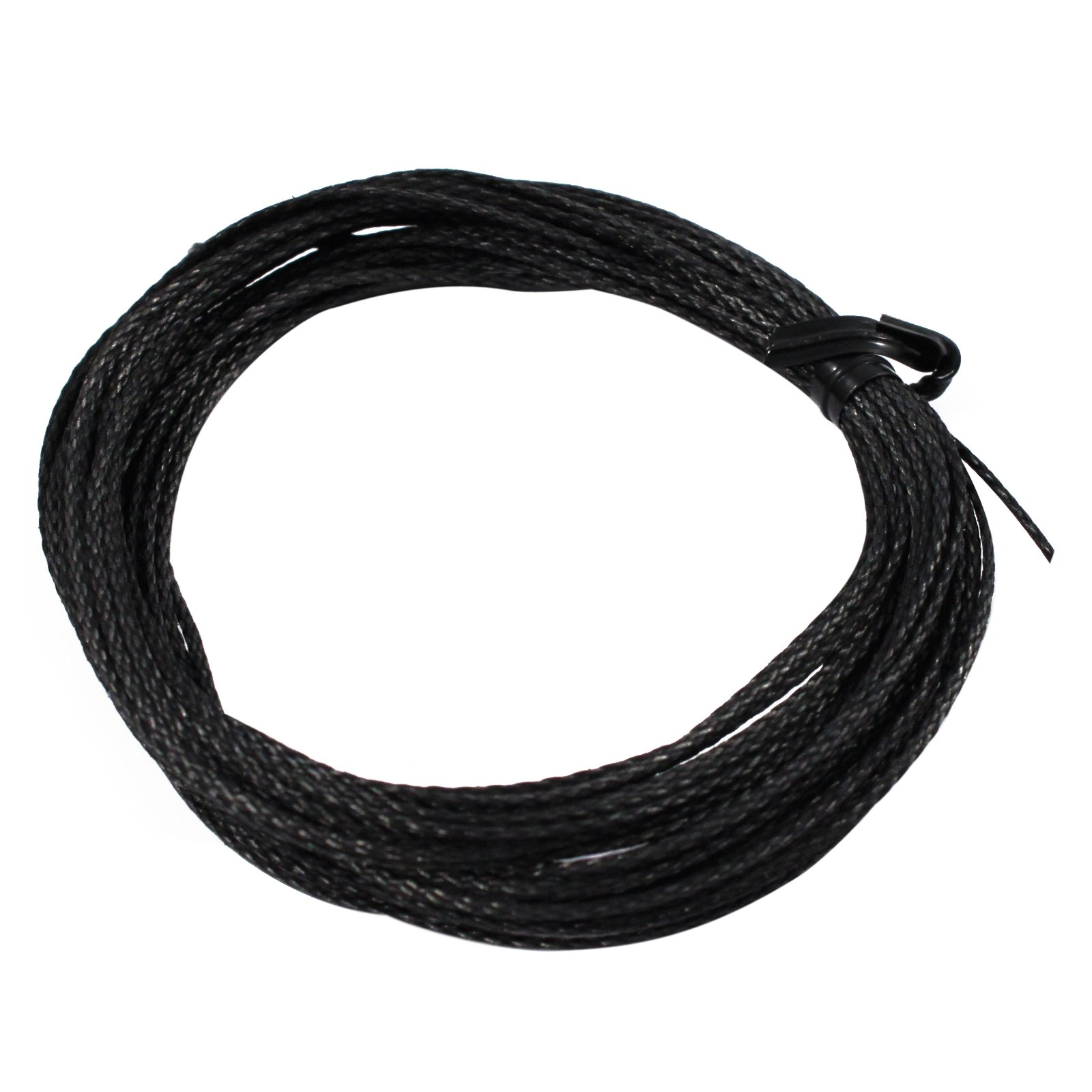 Black Braided Vectran Cord Survival 200lb Breaking Strength Single