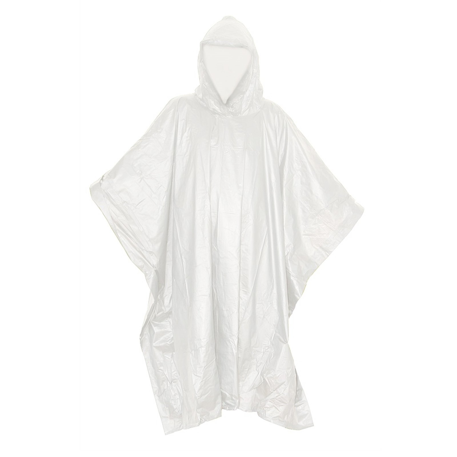 ASR Outdoor Clear Emergency Poncho - 5 Pack