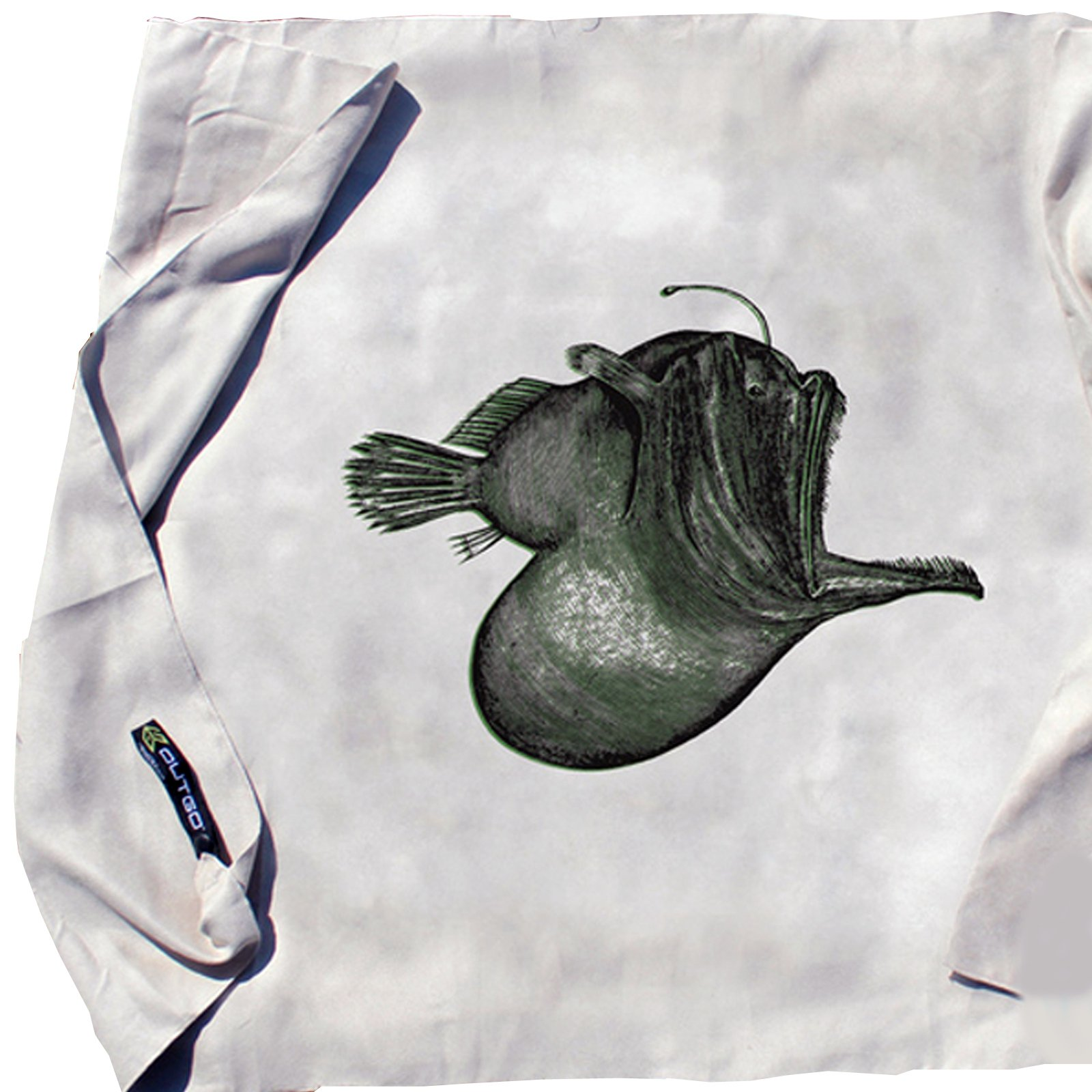 Gear Aid Compact Microfiber Towel Lightweight 30 x 50 Inch Anglerfish