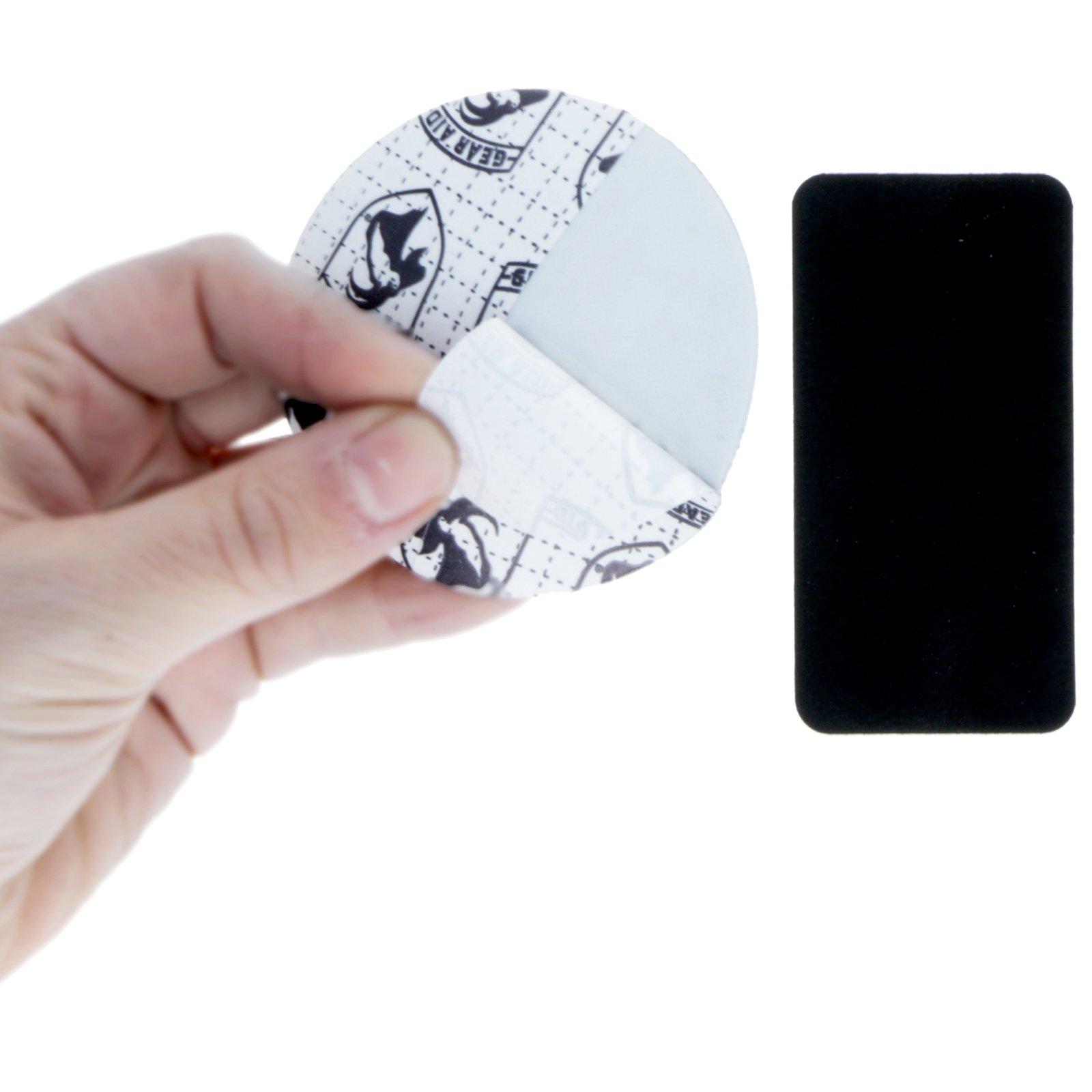 GORETEX Flexible Fabric Patch Repair Kit Medium Weight Camping - 2pc Black Small
