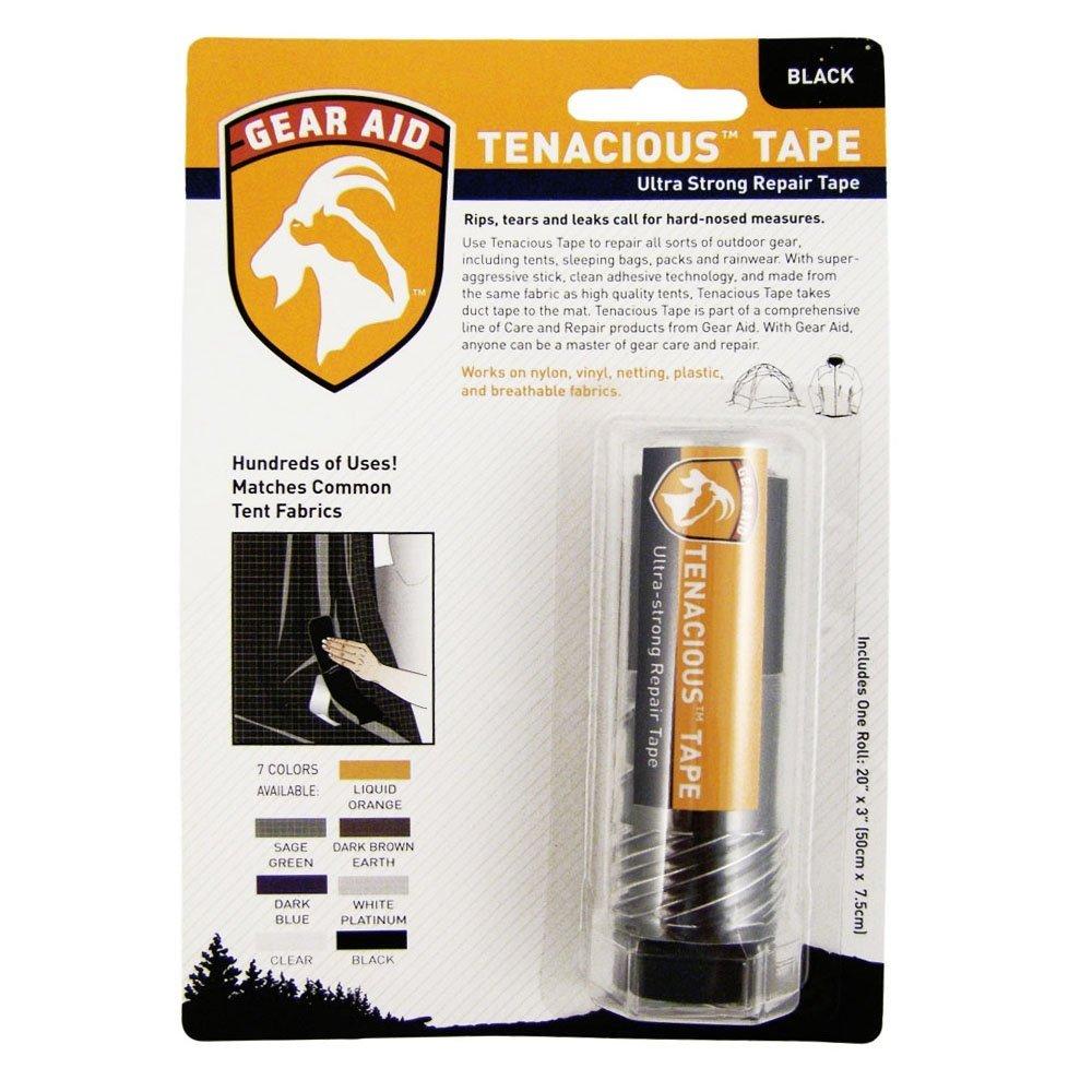 Gear Aid Tenacious Tape Fabric Repair Tape Black