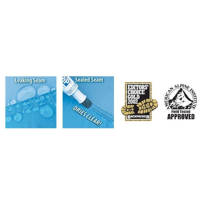 Gear Aid Seam Grip Repair Sealer Glue Outdoor Waterproofing and Camping - Clear