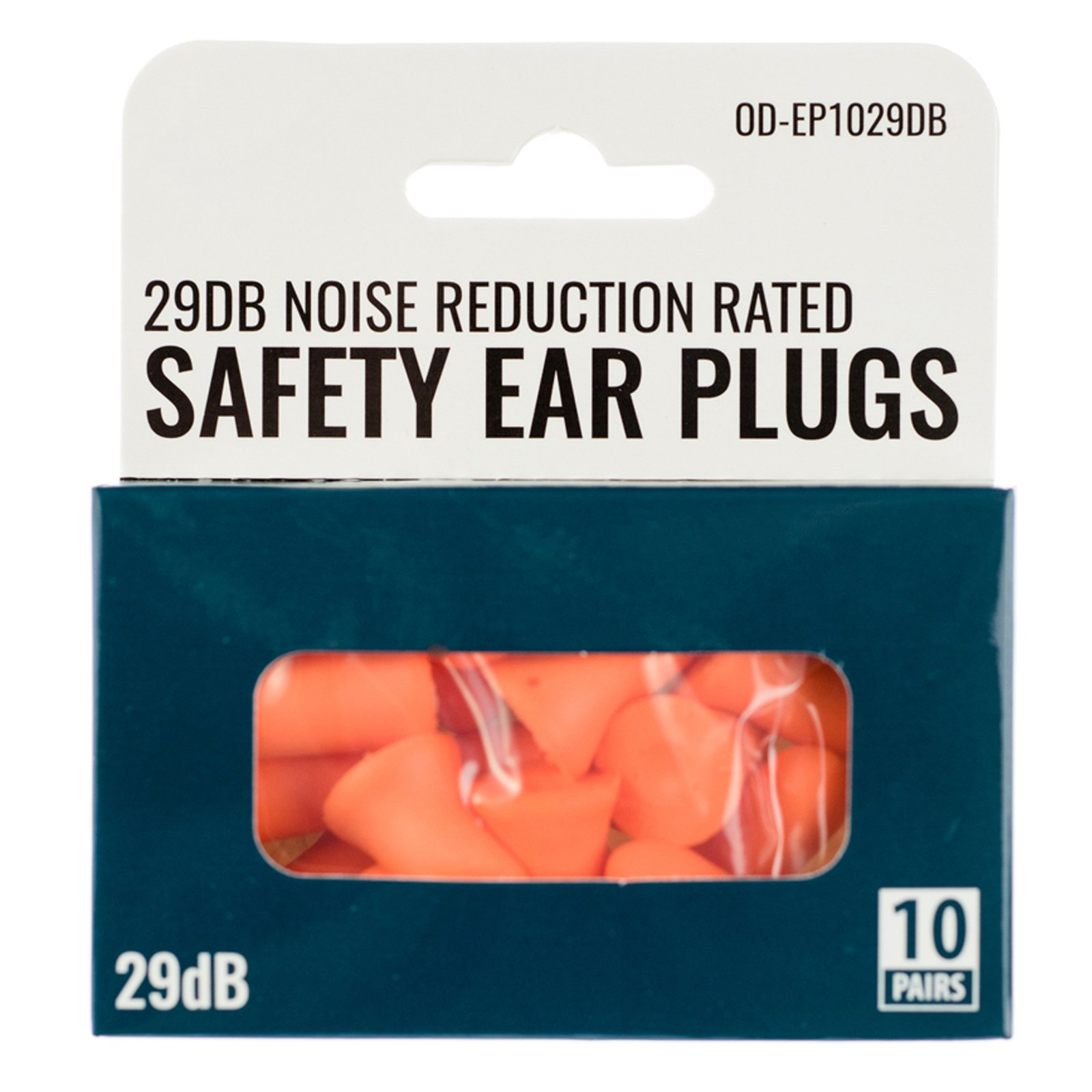 ASR Outdoor 29 dB Noise Reduction Rated Safety Ear Plugs (10 Pairs) Protect Ears