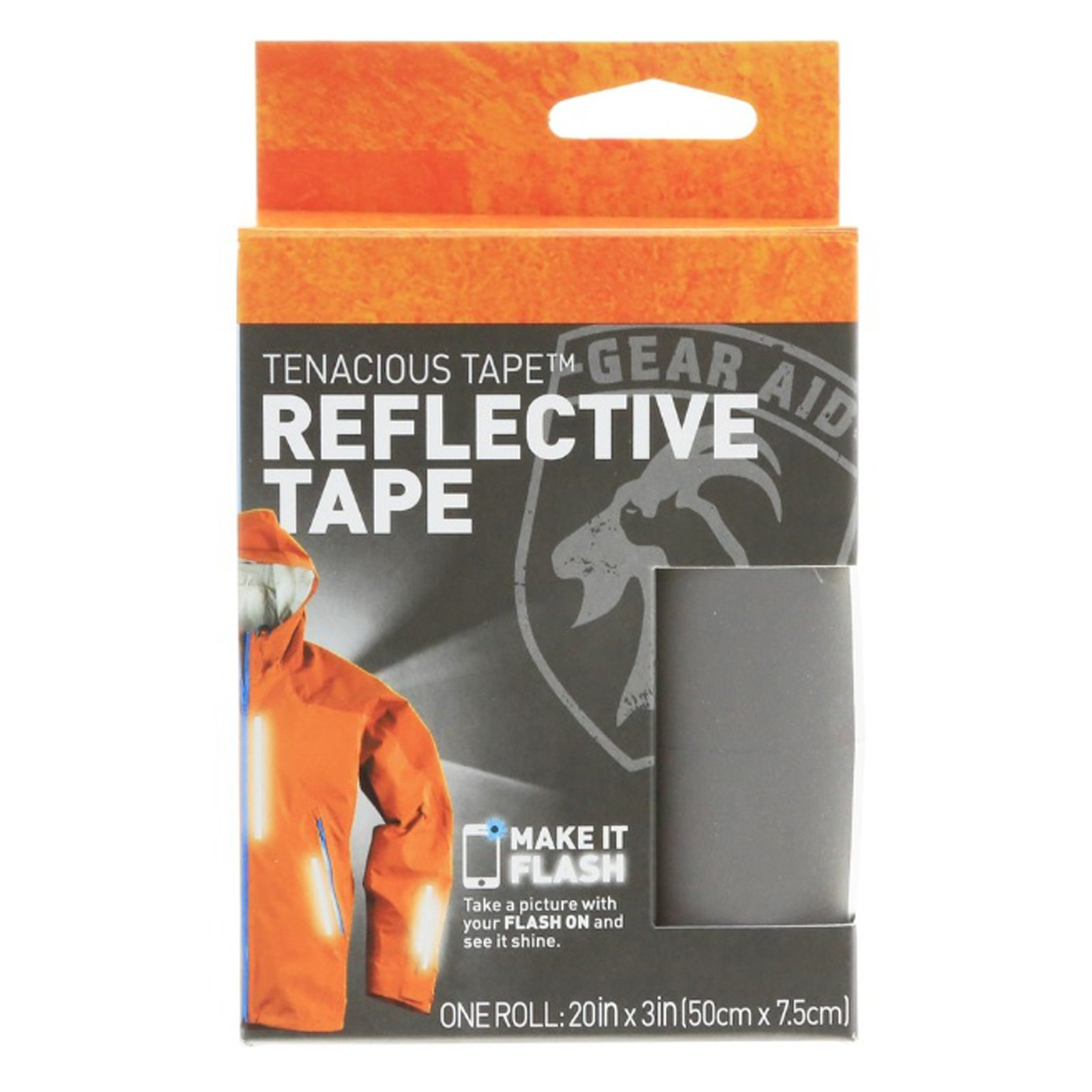 Gear Aid Reflective Fabric Tenacious Tape Outdoor Hiking Emergency Survival Kit
