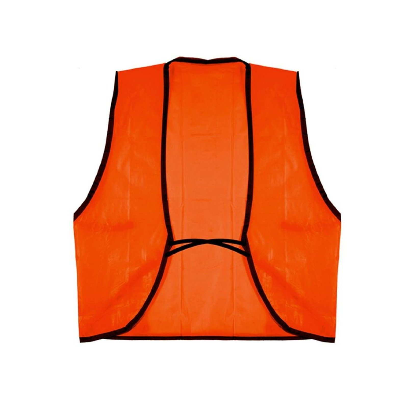 Universal Safety Disposable Vest High Visibility One Size Fits Most Orange