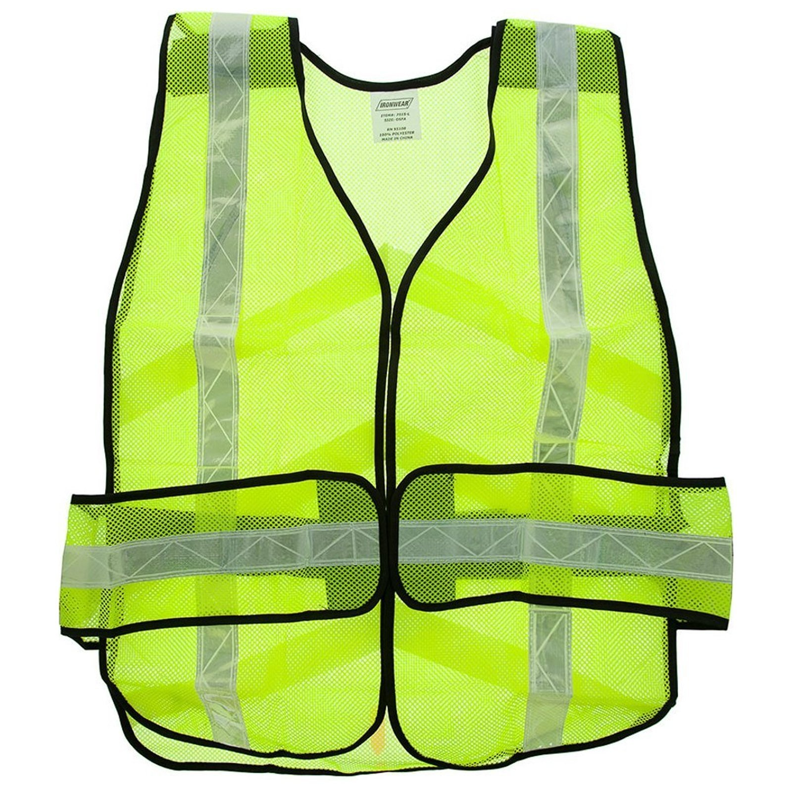 ASR Outdoor Universal Fit Safety Vest - Lime Green