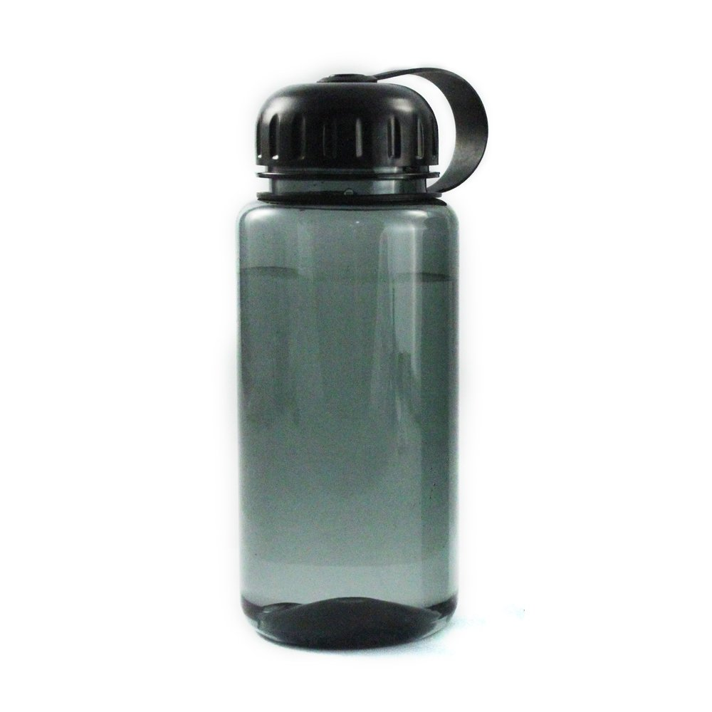 ASR Outdoor 34oz Water Bottle Hard Plastic with Loop Top Lid - 1000mL Grey