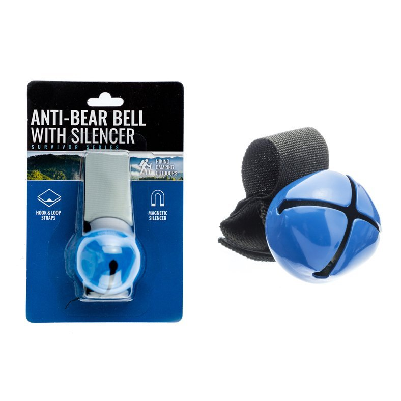 ASR Outdoor Anti Bear and Wildlife Bell with Magnetic Silencer Survivor Series