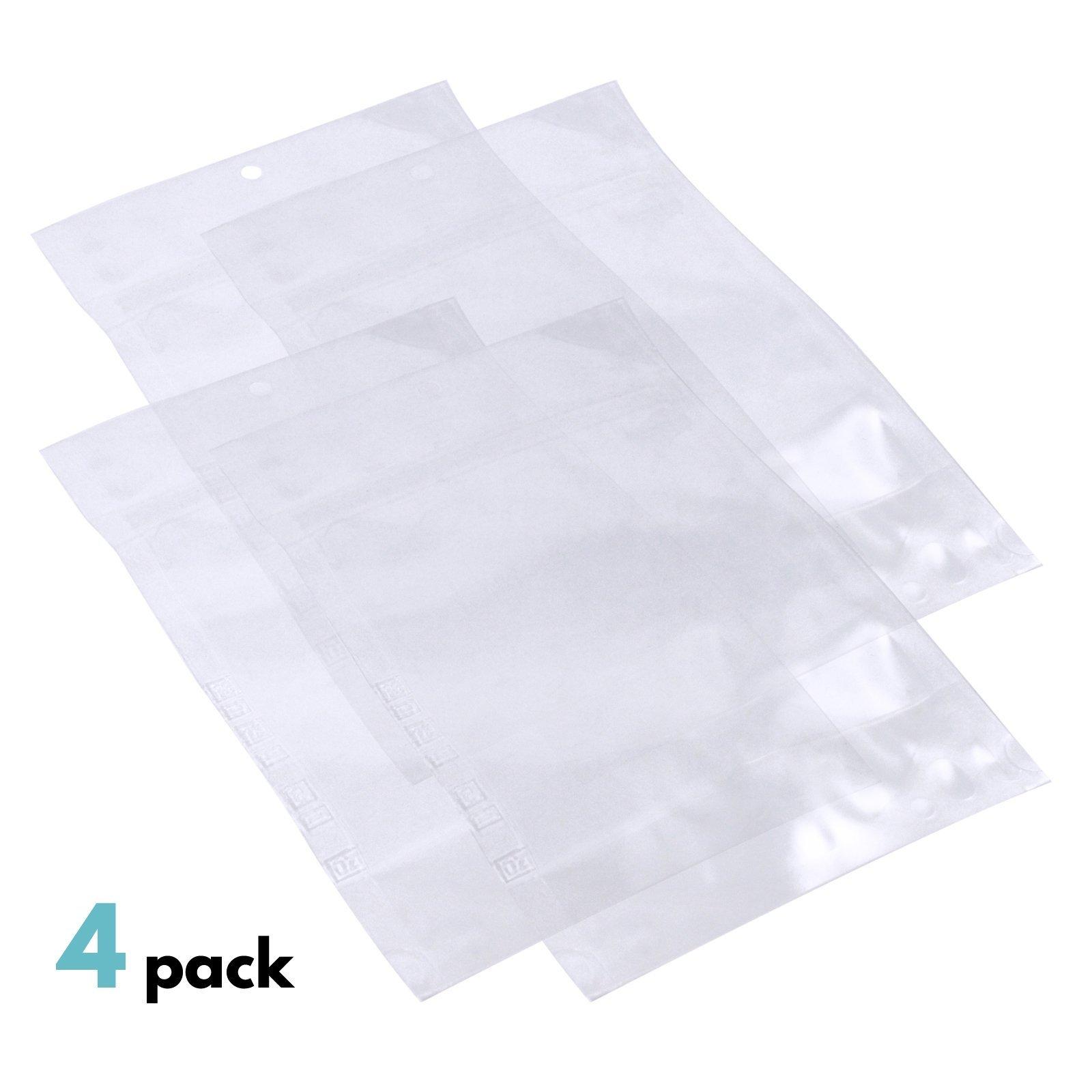 4pk ASR Outdoor Survival Kit Water Bags 1.5 Pints