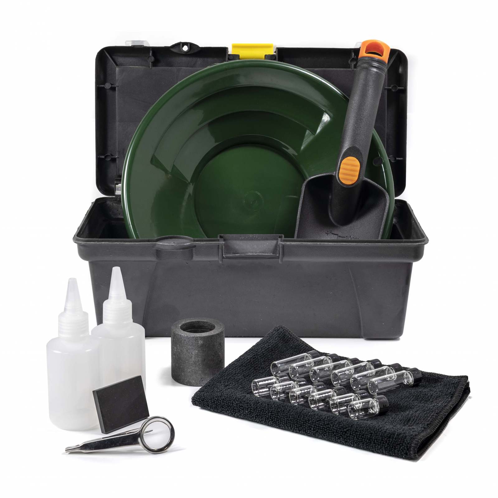 """21pc ASR Outdoor Gold Rush Complete Gold Prospecting Kit with Bonus 10"""" Sifting Pan"""