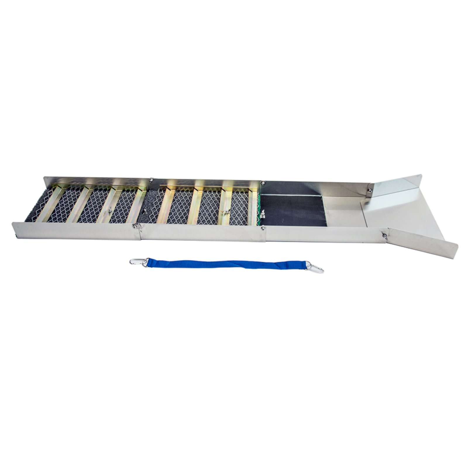 ASR Outdoor Gold Rush Portable Aluminum Folding Prospecting Sluice Box, 50 Inch