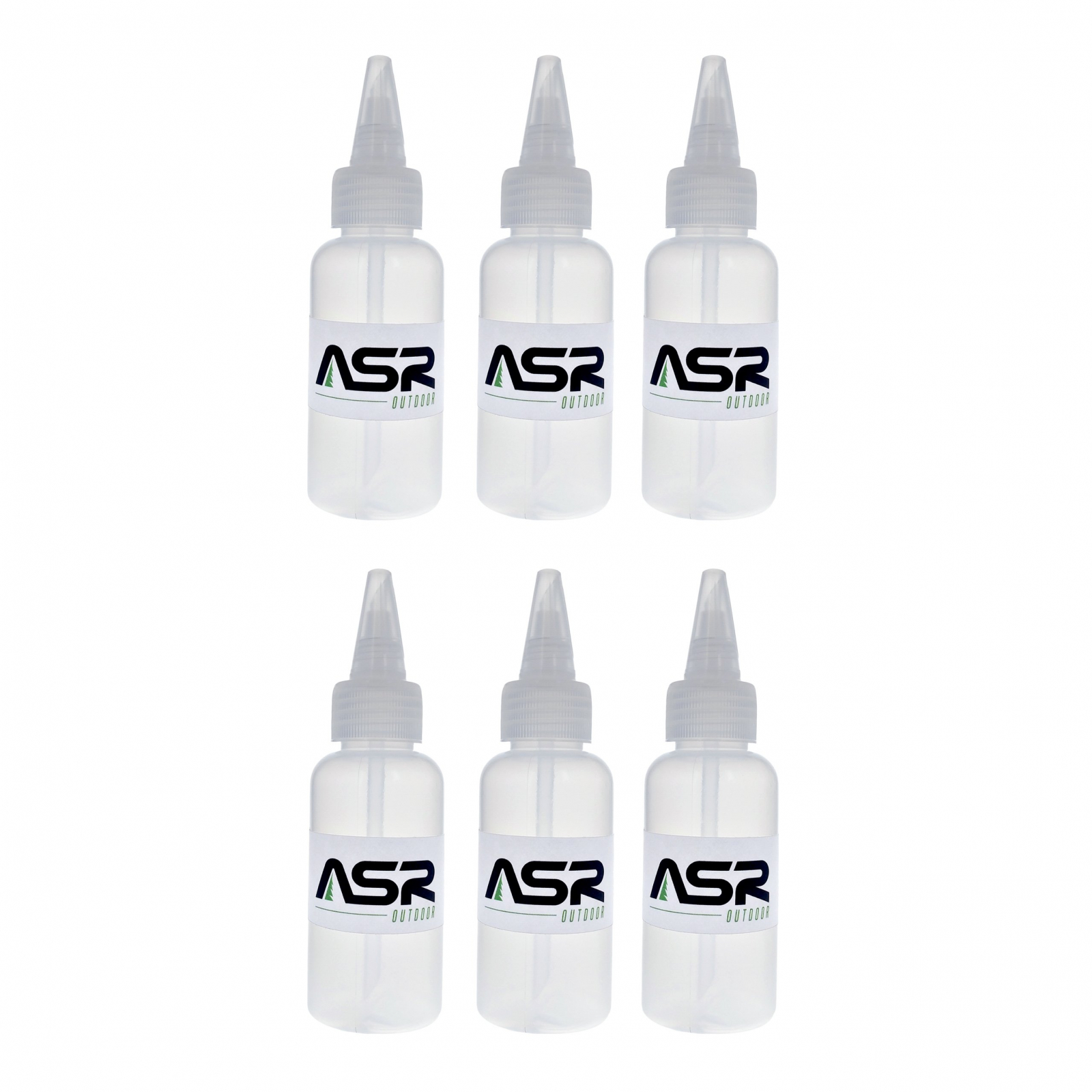 ASR Outdoor Compact 3oz Gold Snifter Squeeze Bottle - 6 Pack