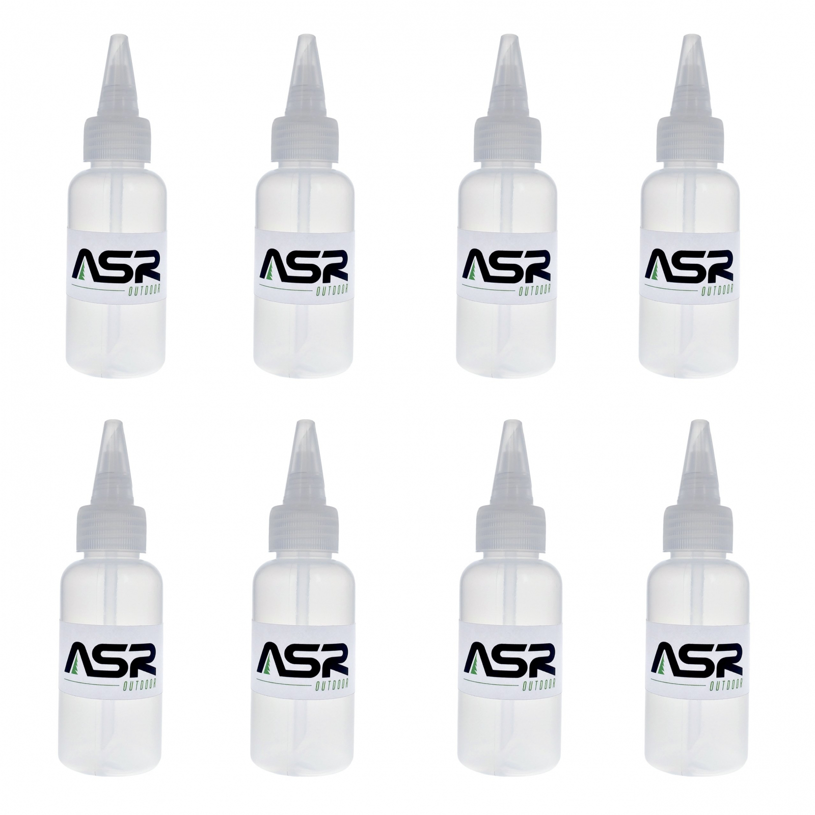 (8 Pack) ASR Outdoor Compact 3oz Gold Snifter Squeeze Bottle