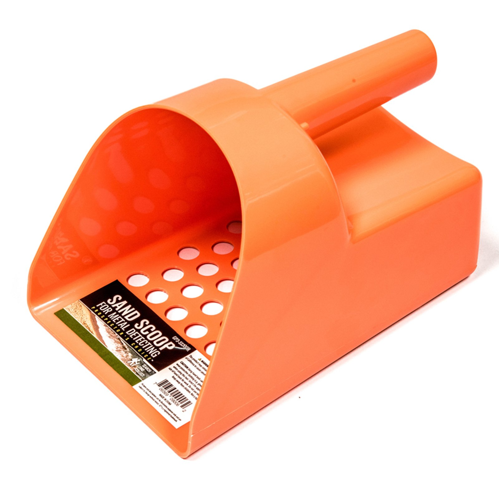 ASR Outdoor 8.5 Inch Orange Plastic Sand Scoop for Gold Panning