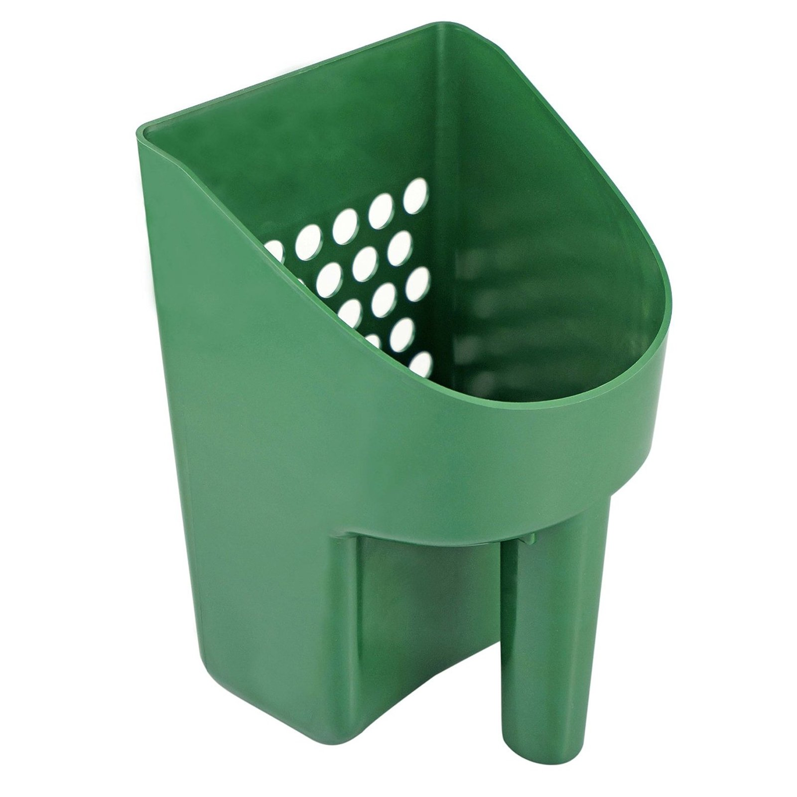 ASR Outdoor 8.5 Inch Green Sand Scooper Heavy Duty Plastic for Metal Detecting
