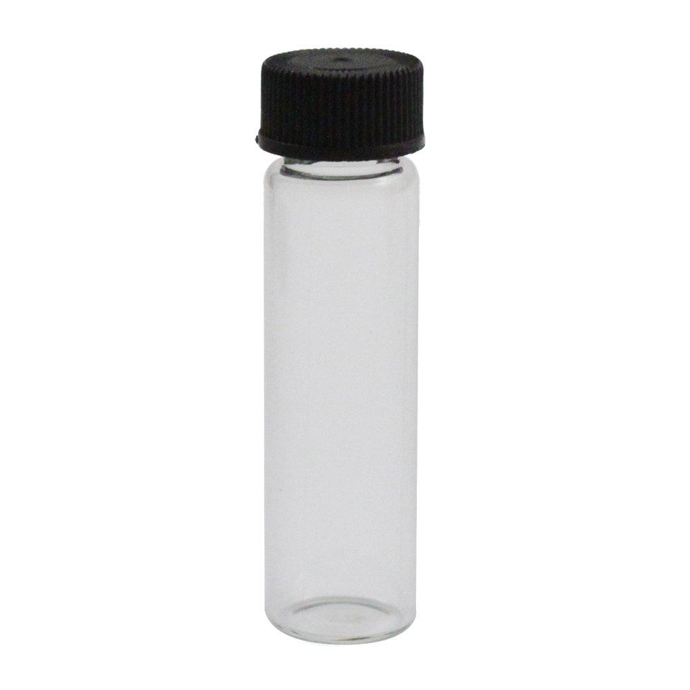 Glass Gold Vial - 1 2/3 Dram