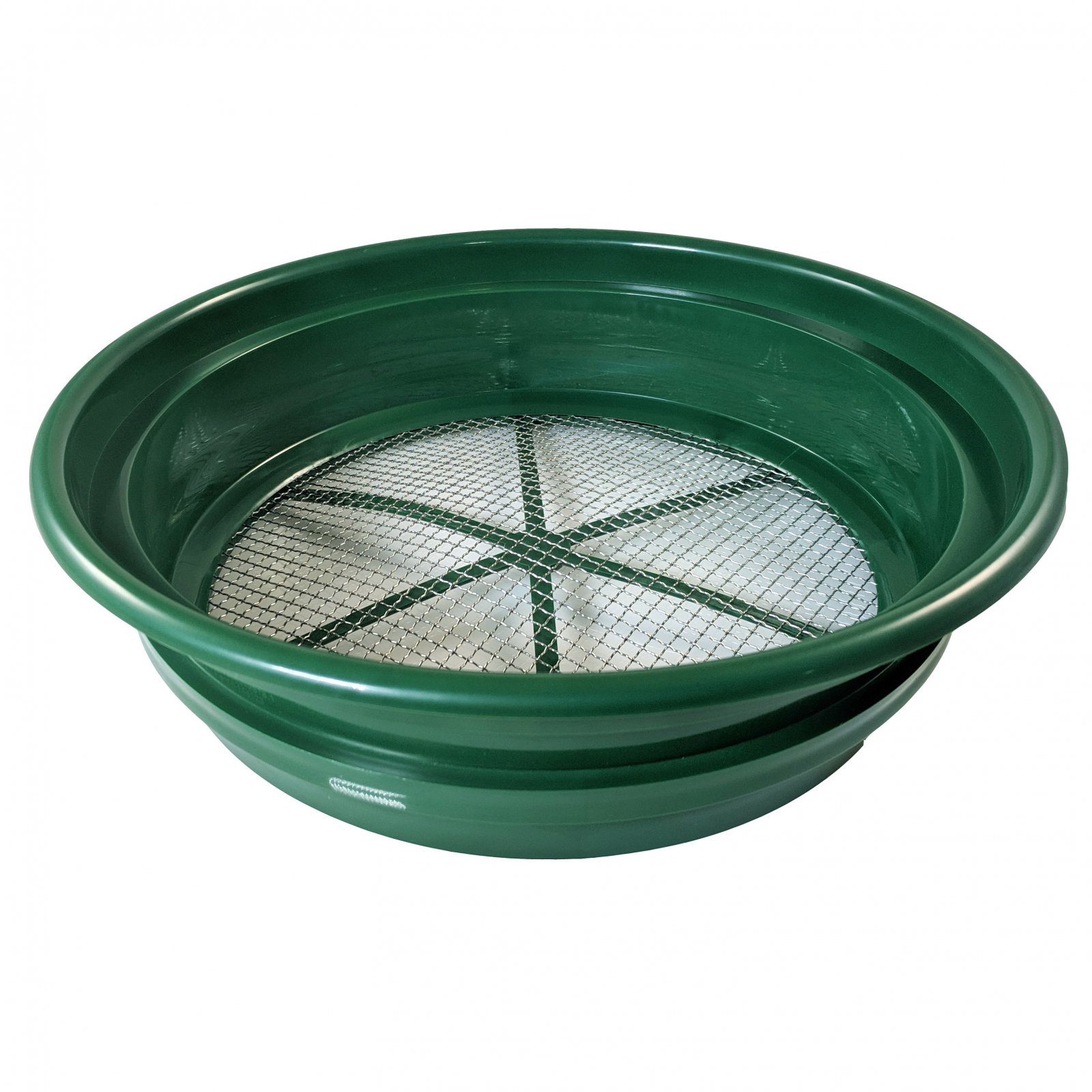 """Gold Rush Mineral Sifting Classifier Sieve Prospect Pan Screen (1/4"""" Mesh)"""