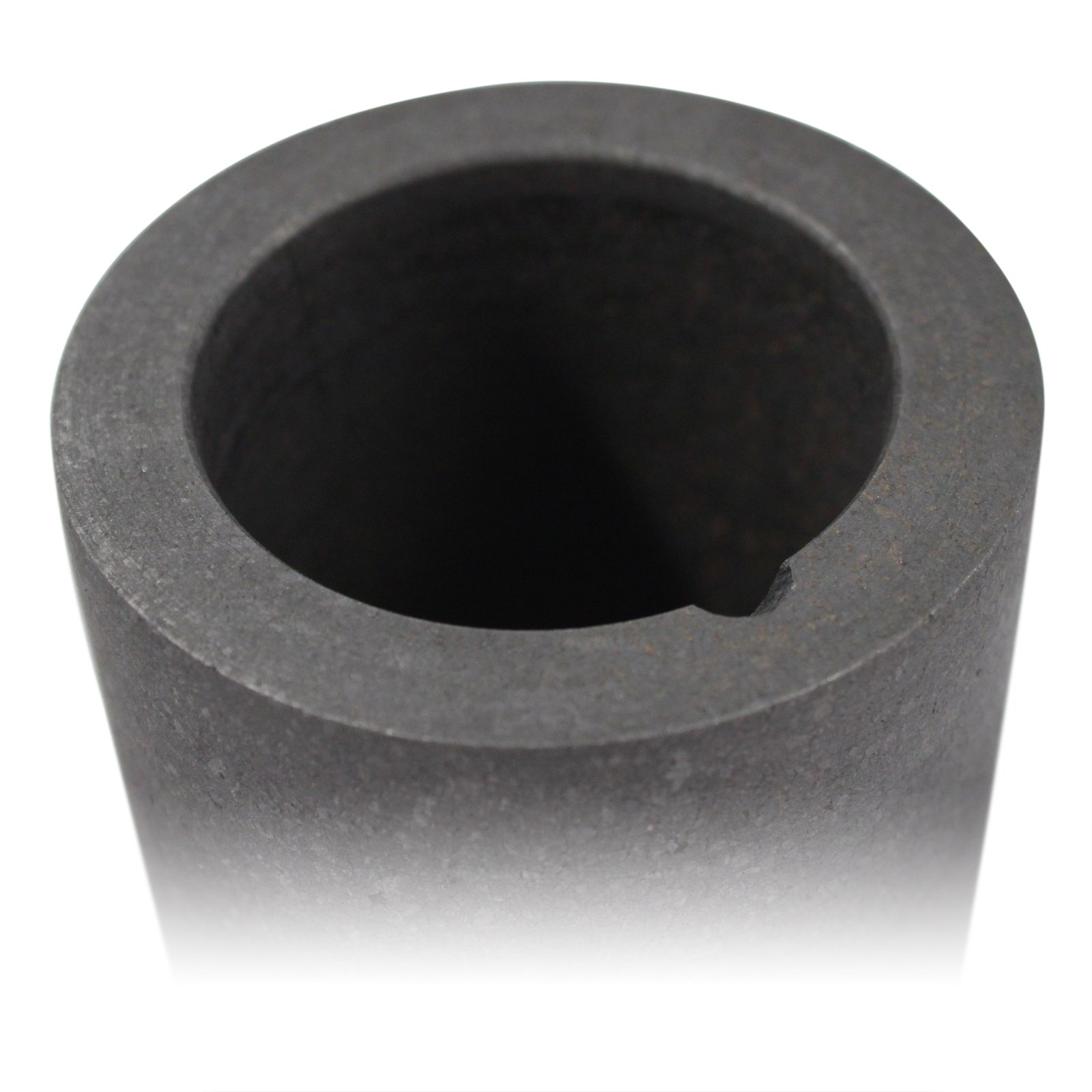 Universal Tool Graphite Crucible for Melting Gold and Silver - 2.5 x 2.5 Inch