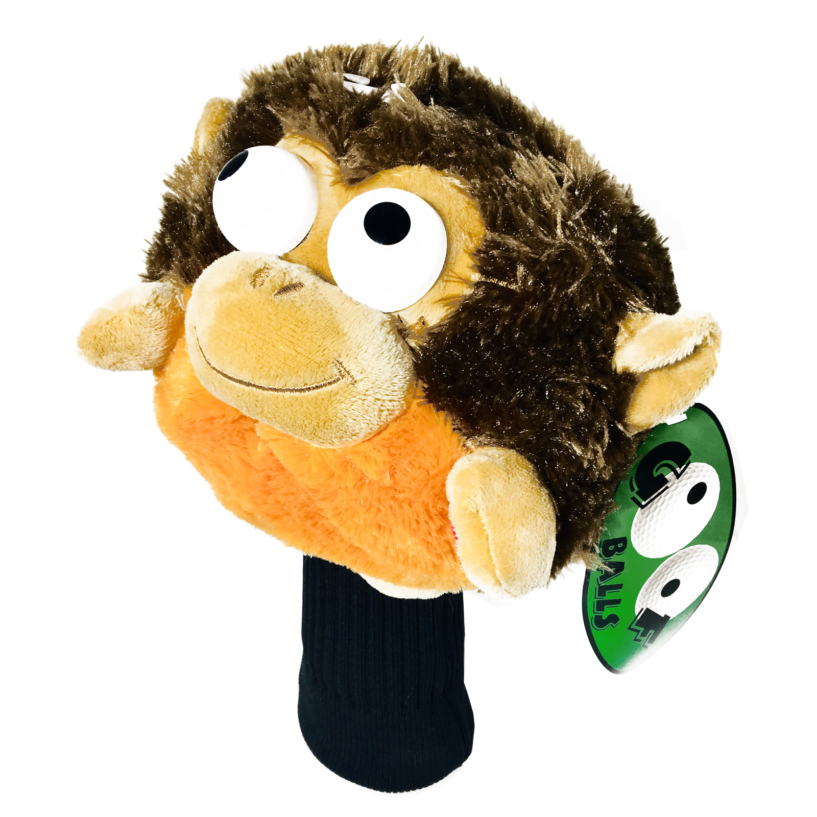 Golf Pals Goofballs Monkey Head Cover Spinning Eyes Sounds