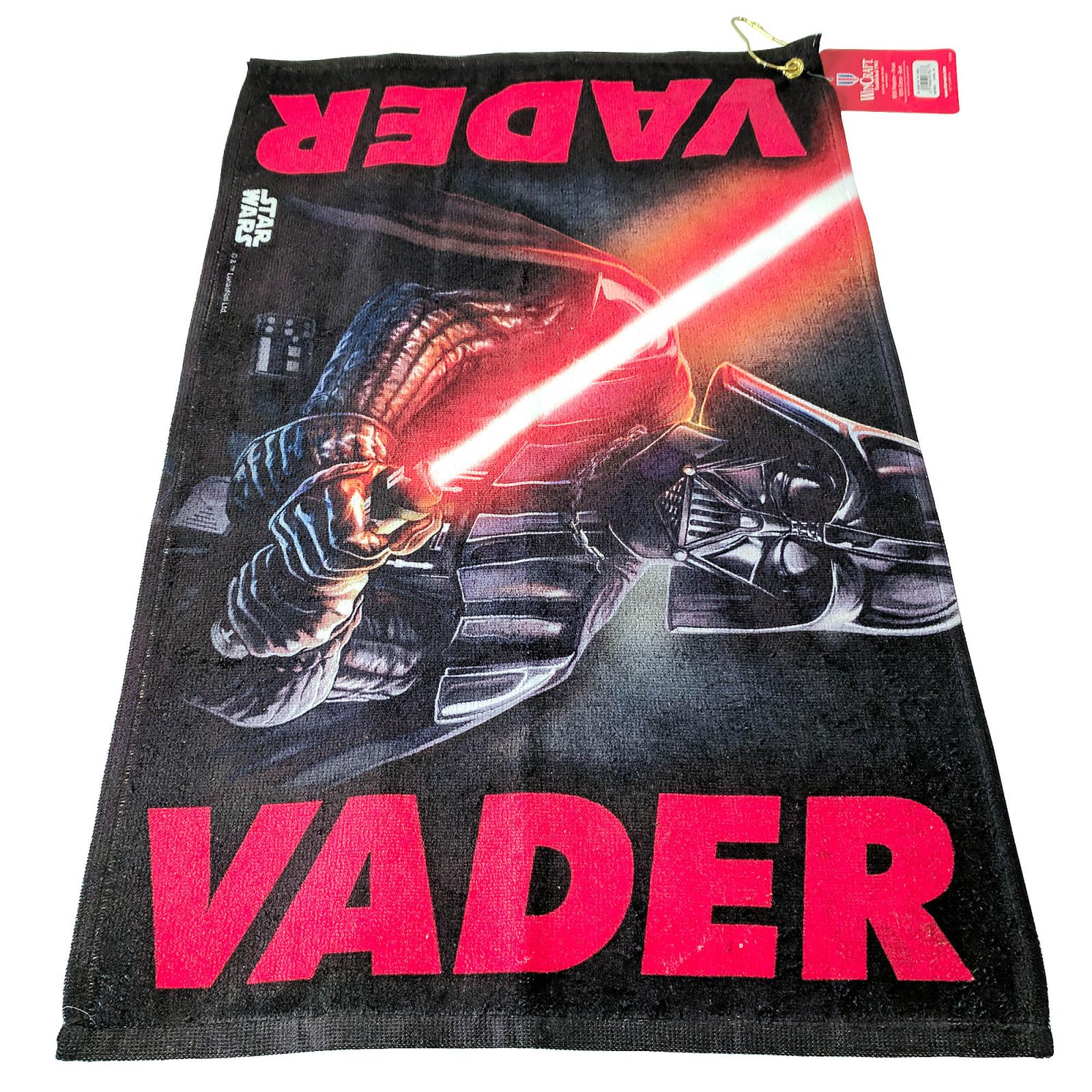 Star Wars Darth Vader Golf Towel Golfing Bag Accessory