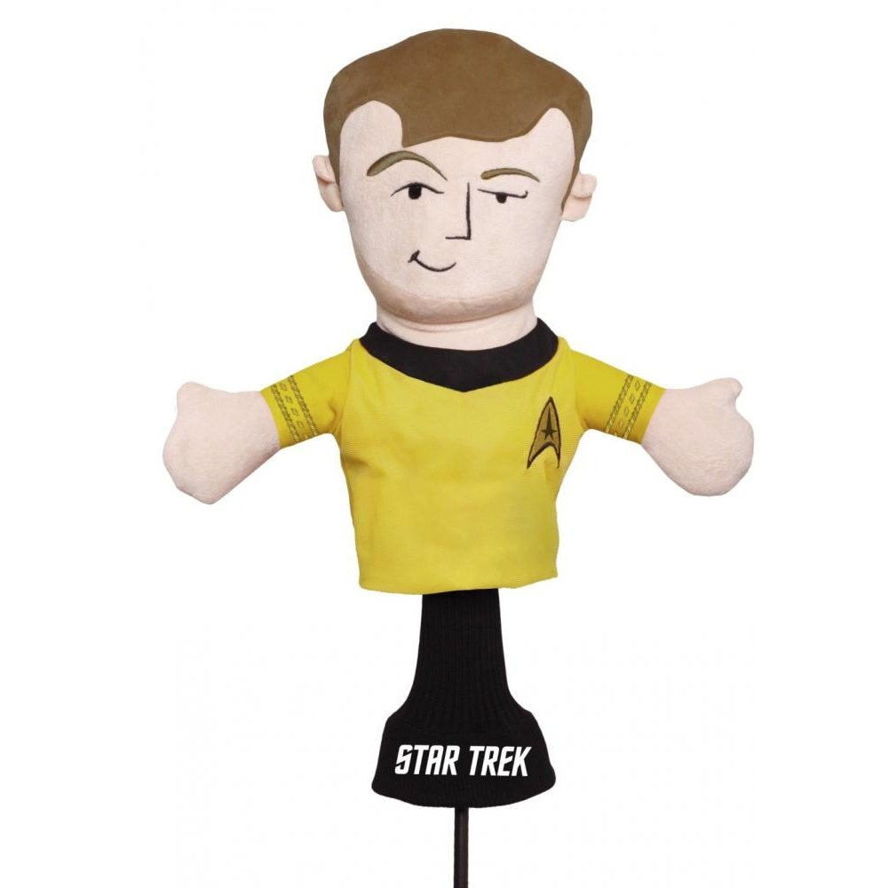 Golf Head Cover Captain James Kirk Star Trek 460cc Driver Wood Plush Headcover