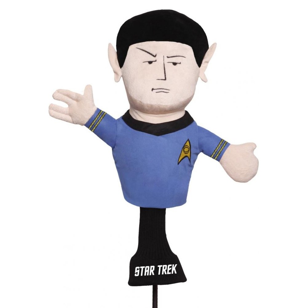 Golf Head Cover Spock Star Trek 460cc Driver Wood Sporting Goods Headcover