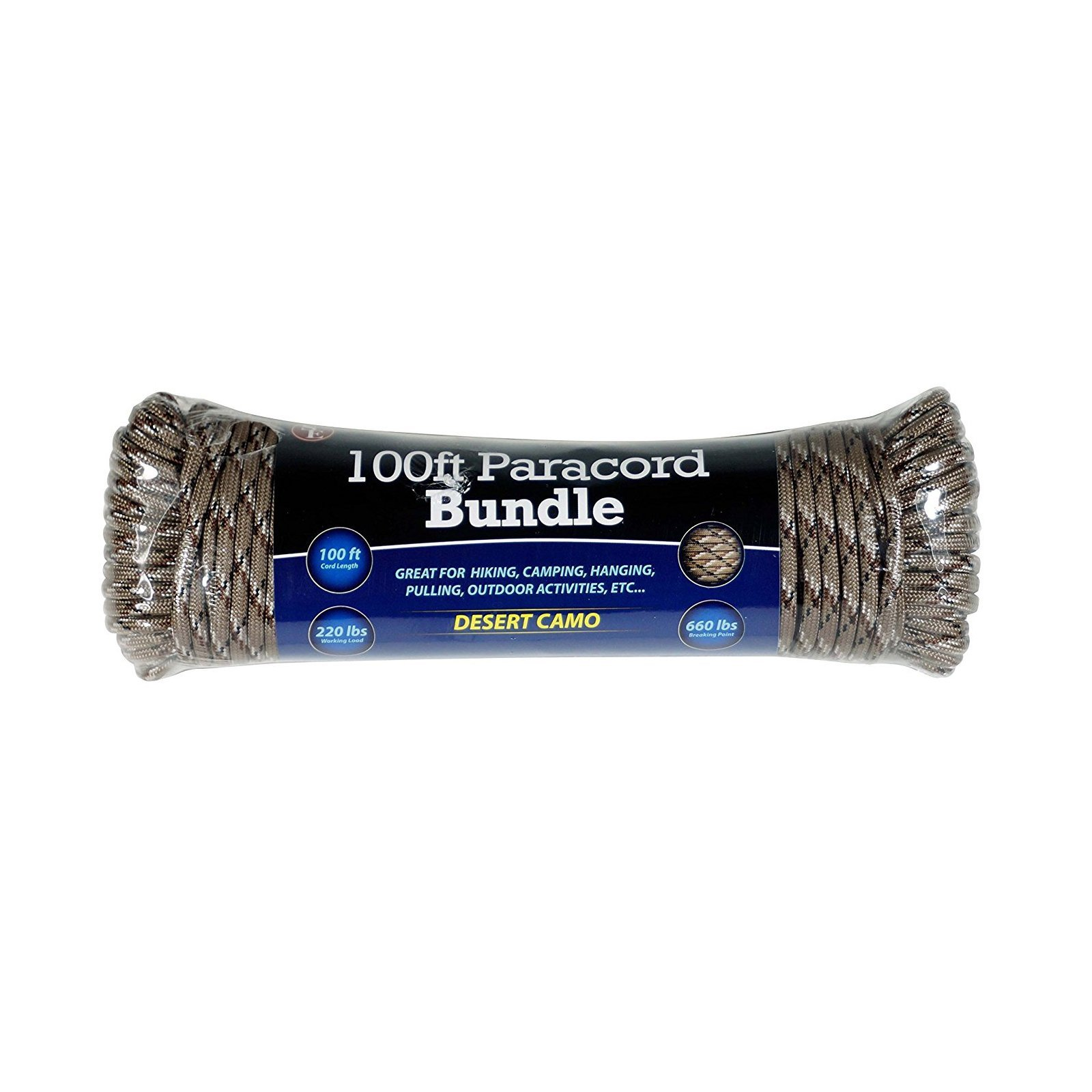 In Package Outdoor Gear Rope- Working Load of 220 lbs and Breaking Point of 660 lbs