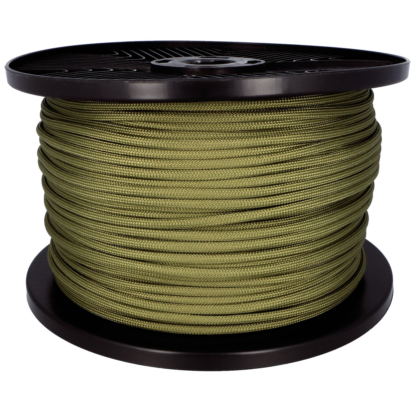 550lbs Strength Survival Paracord Rope Camping Hiking OD Green - 25ft