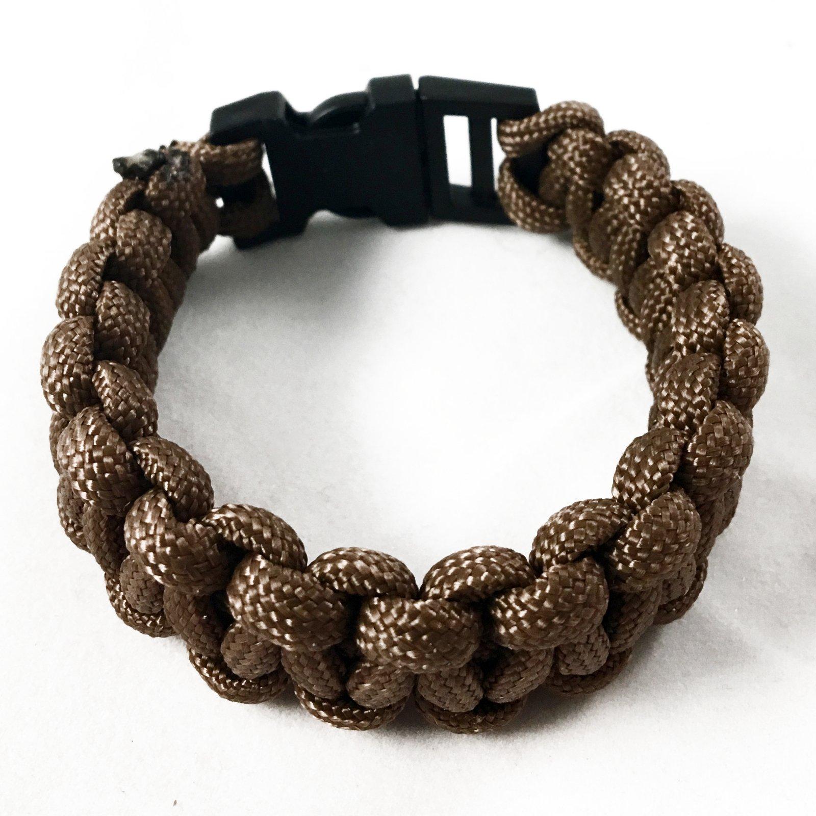 ASR Outdoor - Paracord Bracelet - Brown