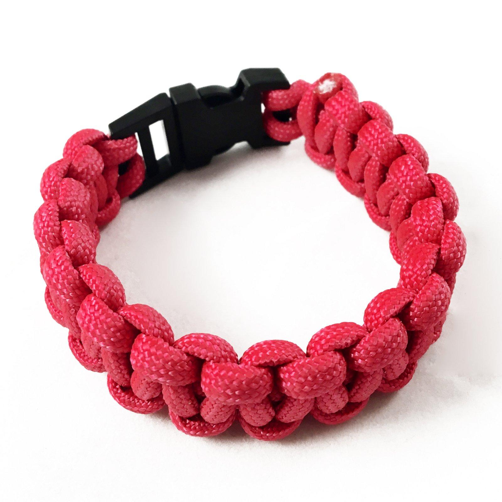 ASR Outdoor - Paracord Bracelet - Pink