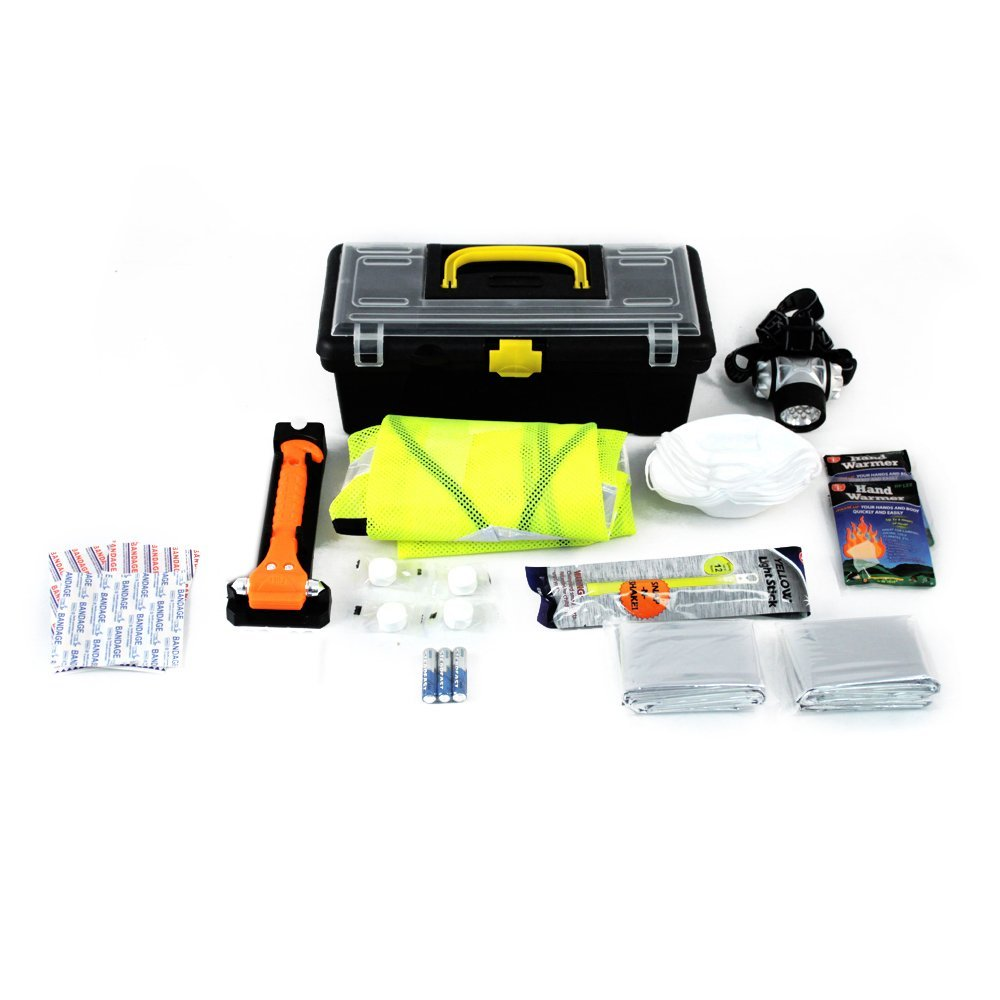 Car Accident Emergency Preparedness Kit Contents