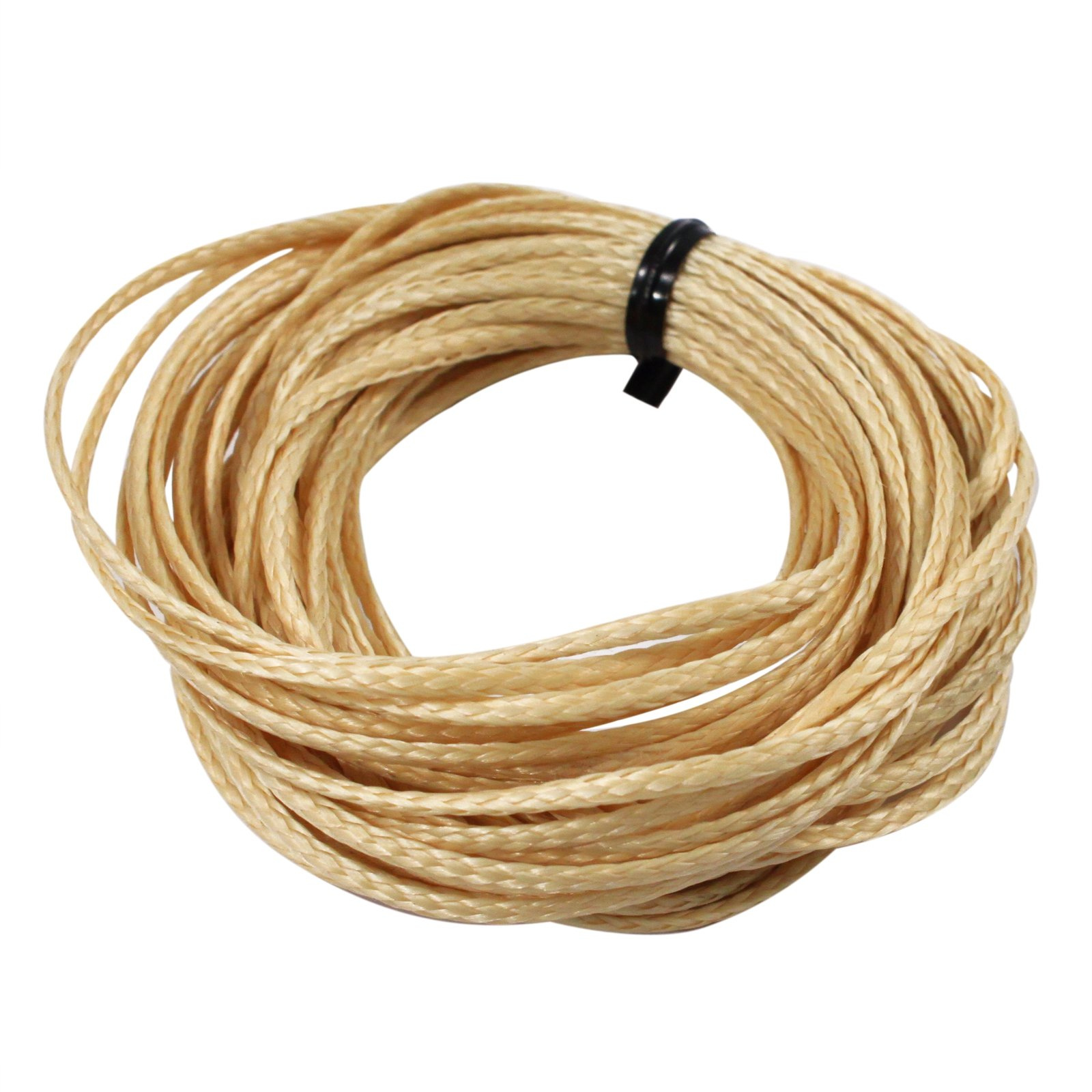 ASR Outdoor Technora Composite Survival Rope 1200lb Breaking Strength 100ft Tan