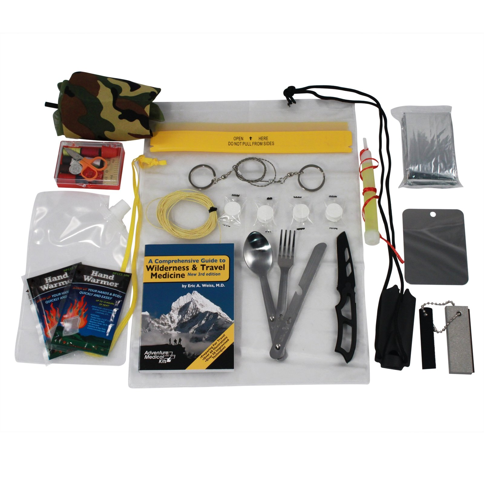 Wilderness Travel Guide and Survival Gear Bug Out Bag