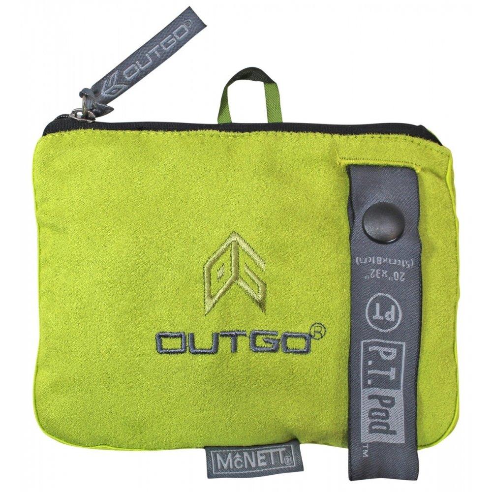 Tactical PT Pod Physical Fitness Microfiber Towel for Outdoor Rec - OG Green