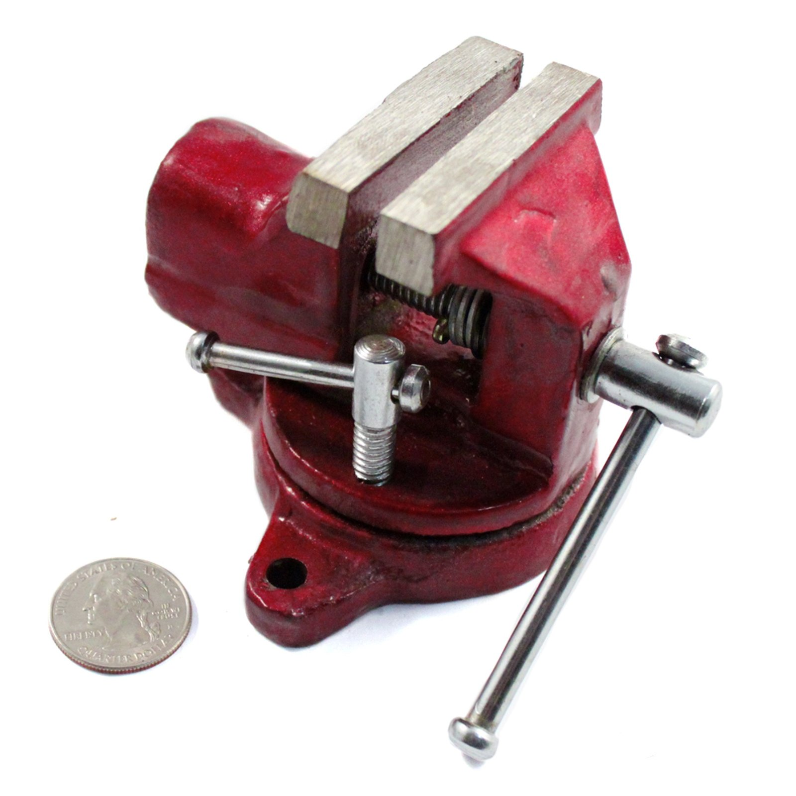 "2"" Fixed Rotating Desk Vise"