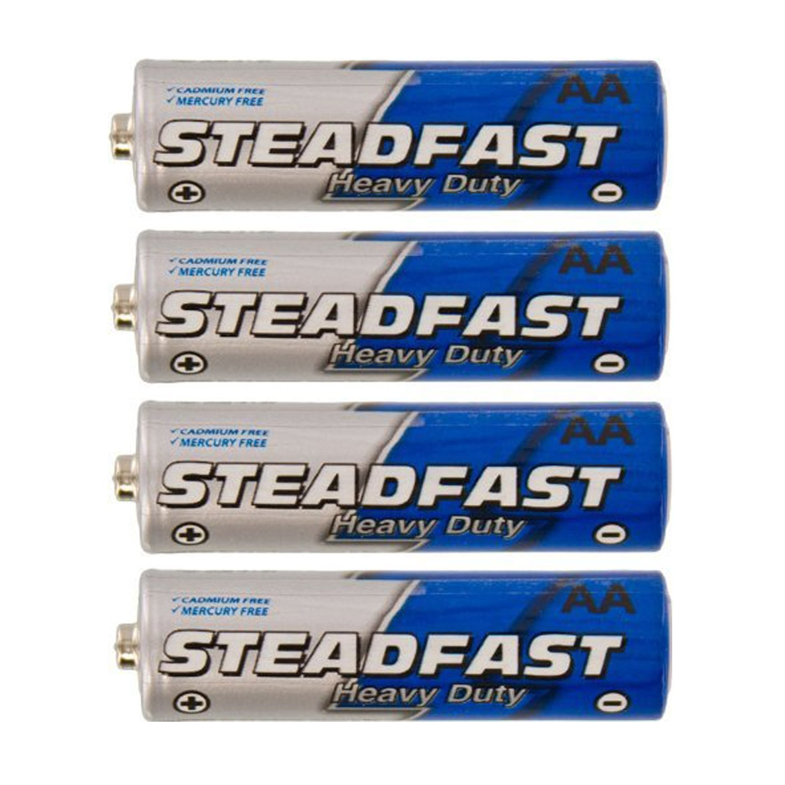 240pc Heavy Duty AA Battery Steadfast Blue